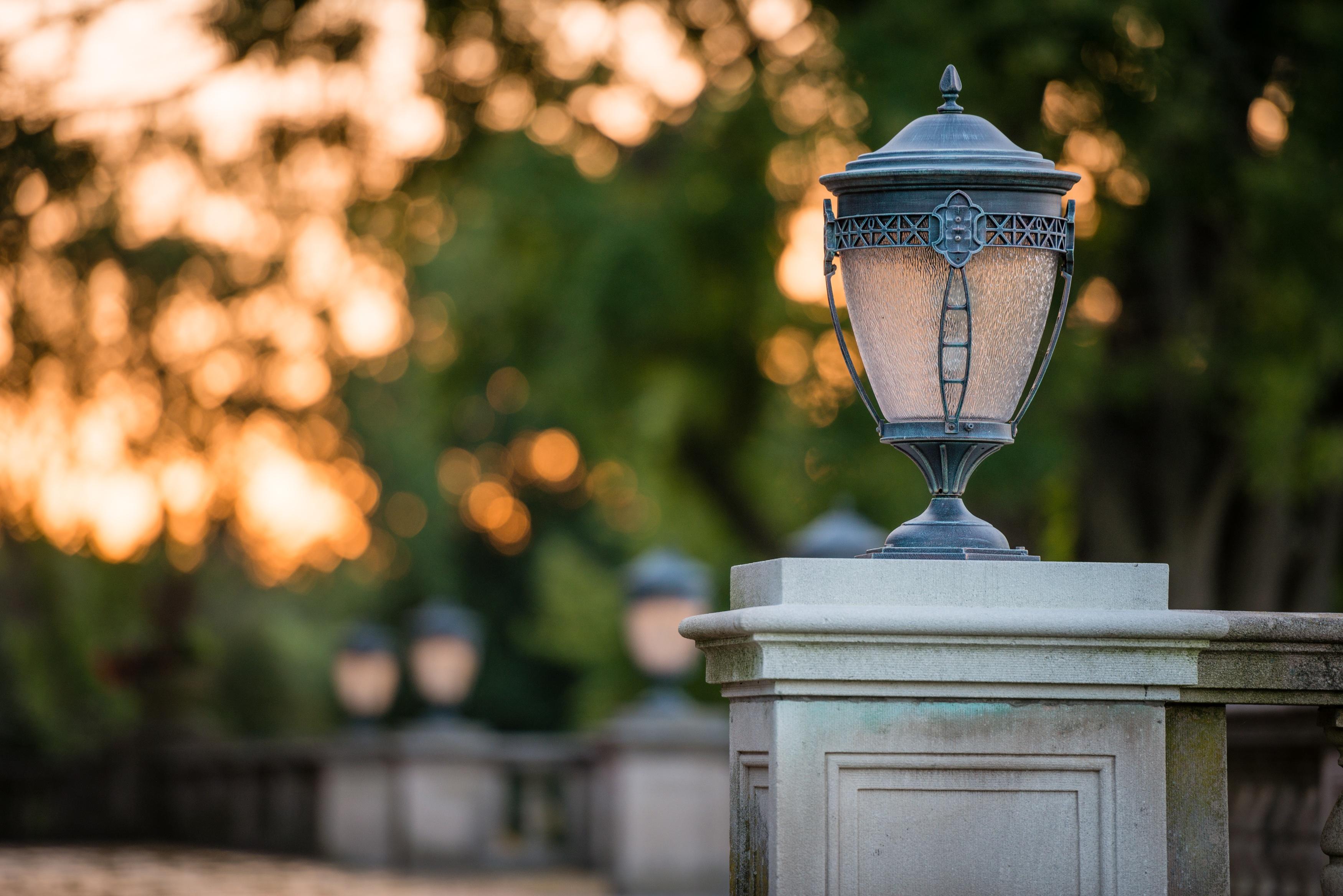 Картинки фонари на улицах в парках