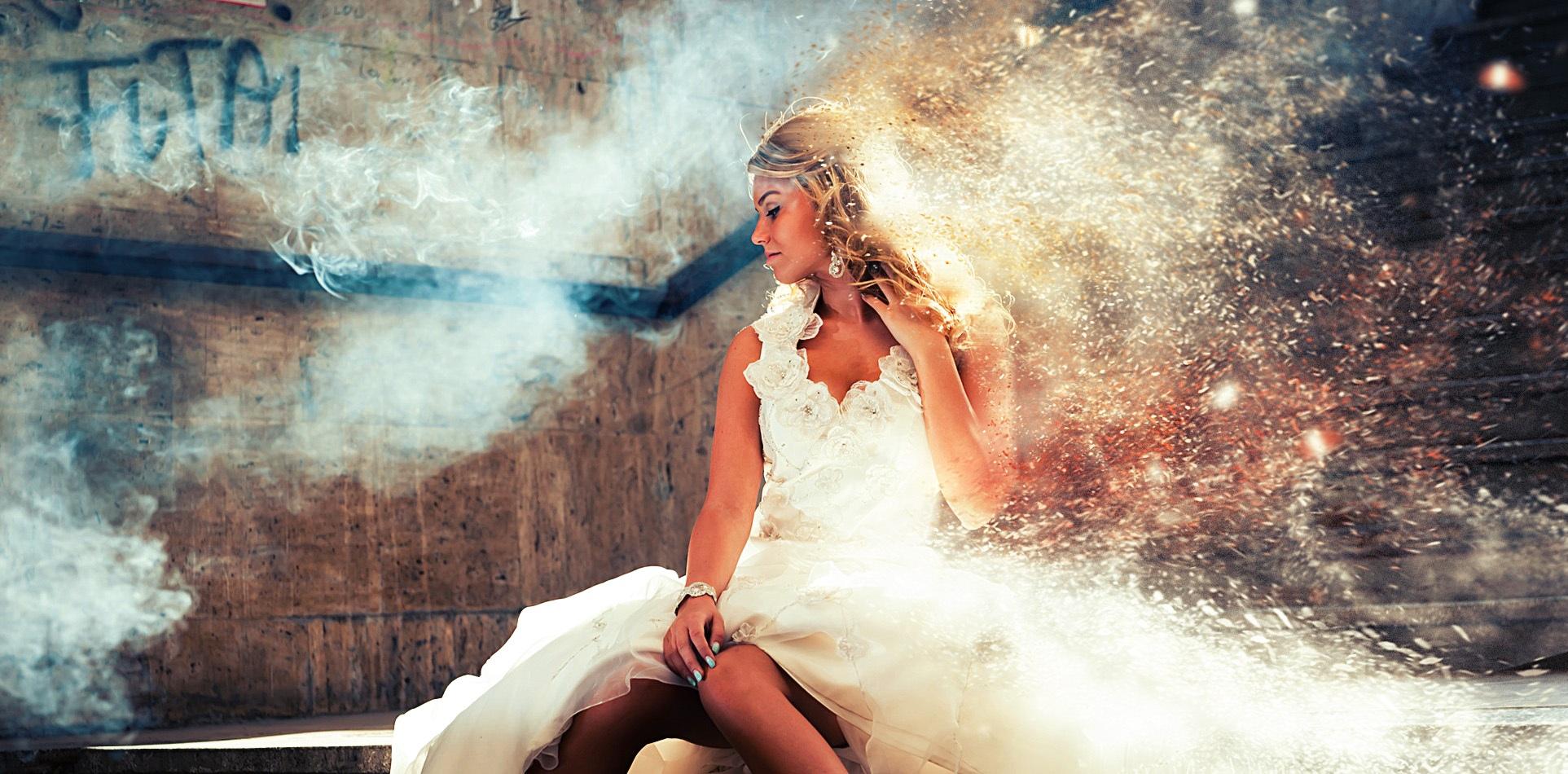 Free Images Light Girl Woman Hair Fog Road Smoke Solitude