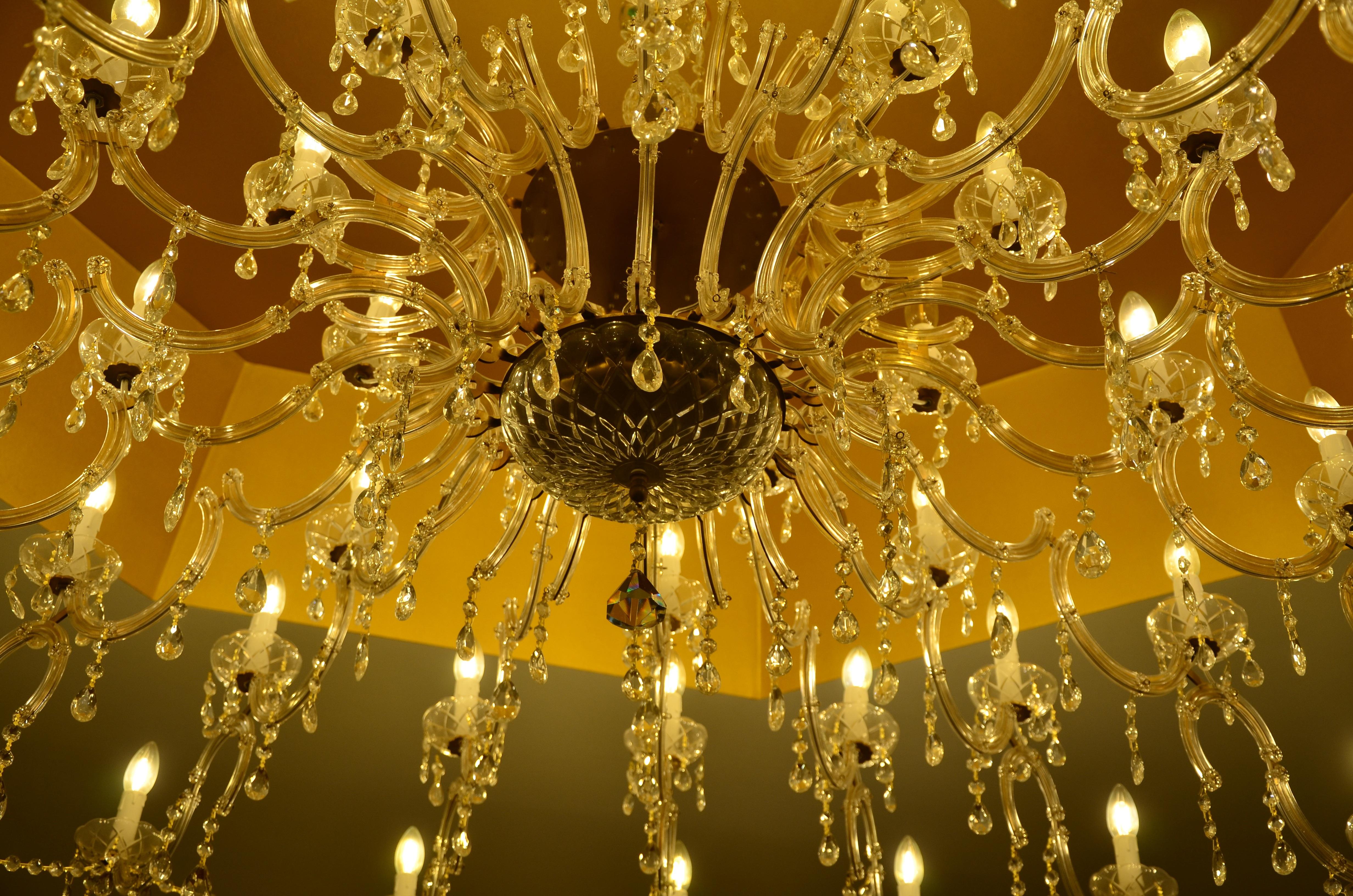 Gratis Afbeeldingen : licht, glas, plafond, lamp, verlichting, decor ...