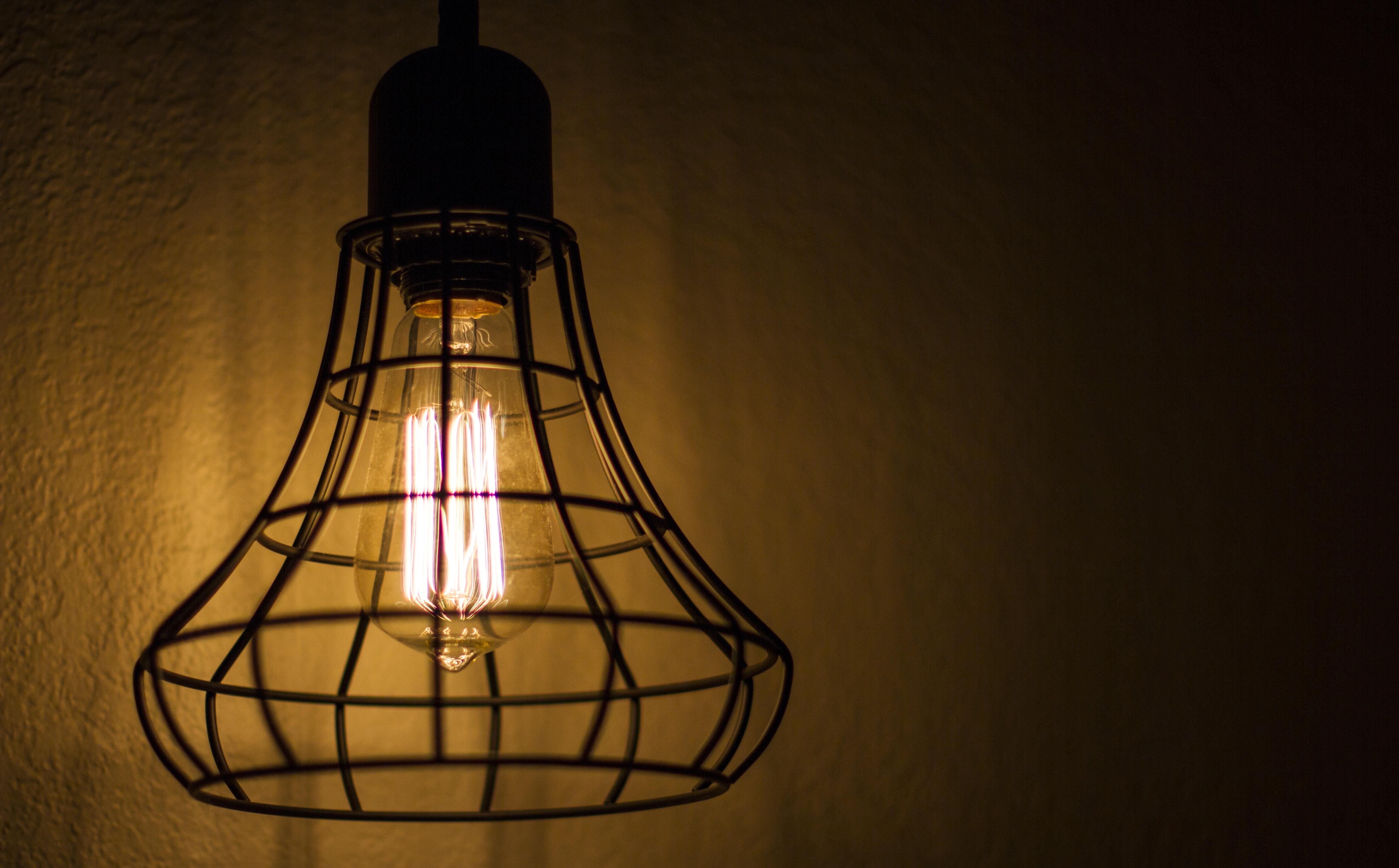Helt nye Bildet : lett, glass, gammel, vegg, rustikk, lykt, lampe MV-44