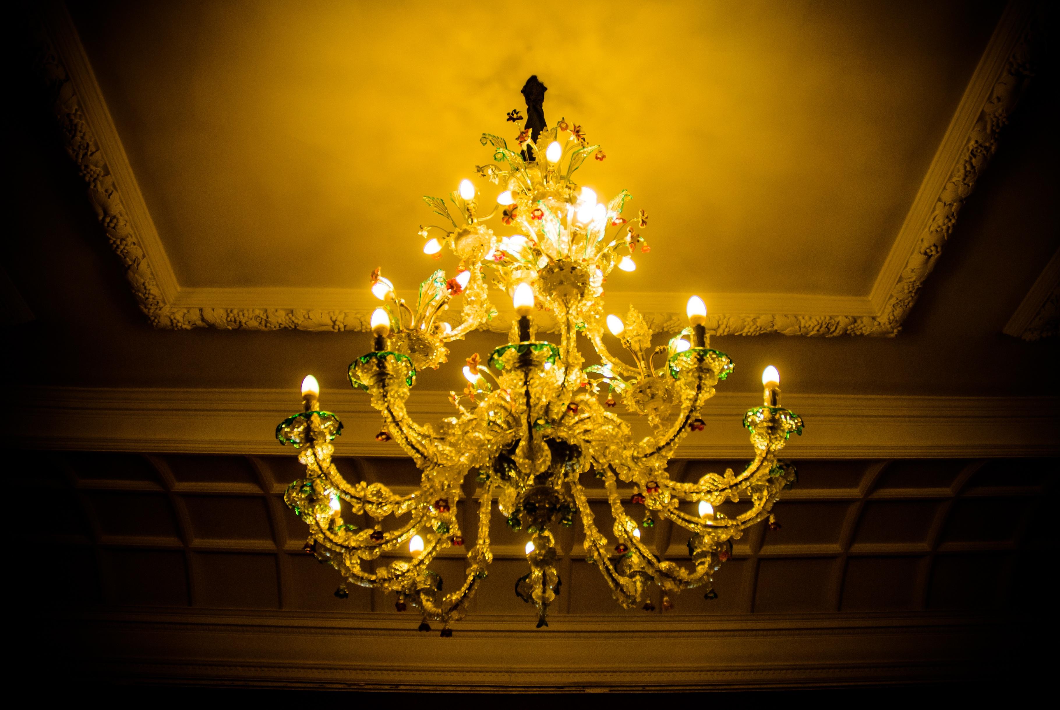 Free images glass palace lamp yellow lighting decor light glass palace lamp yellow lighting decor luggage christmas decoration light fixture chandelier vigo arubaitofo Gallery