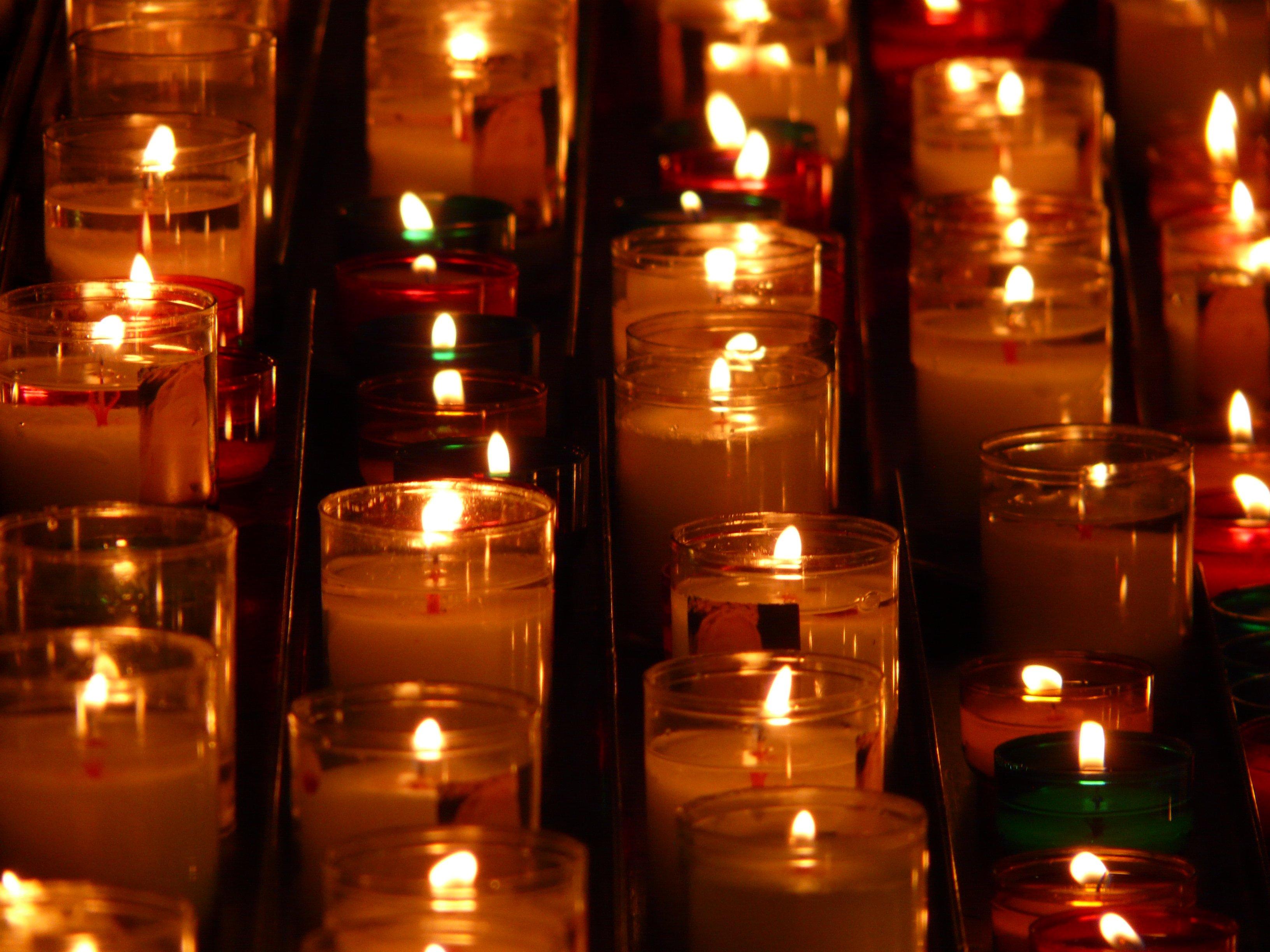 Candle Lighting Prayer Lighting Ideas