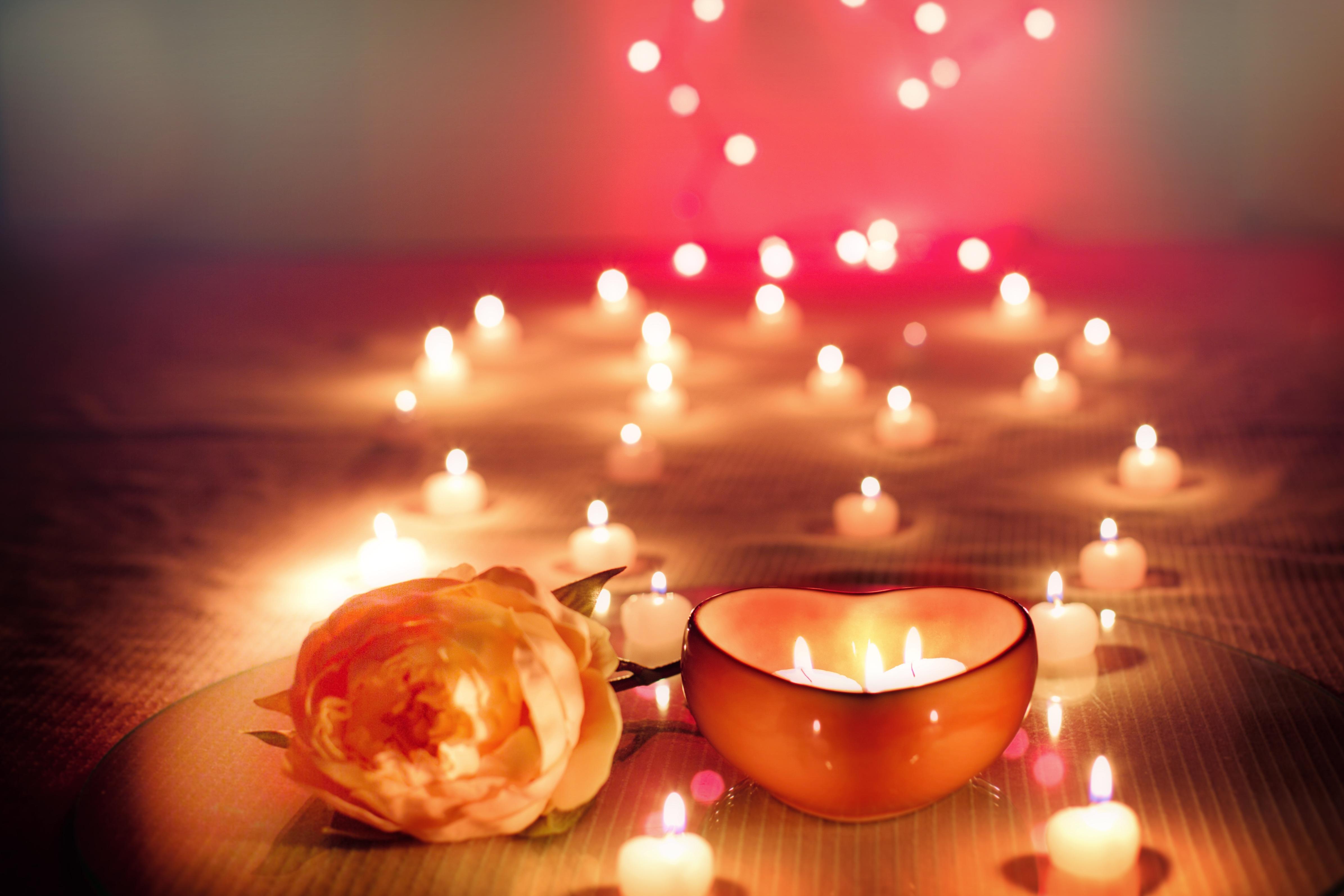 Licht Roze Kaarsen : Gratis afbeeldingen licht gloeiend viering liefde hart