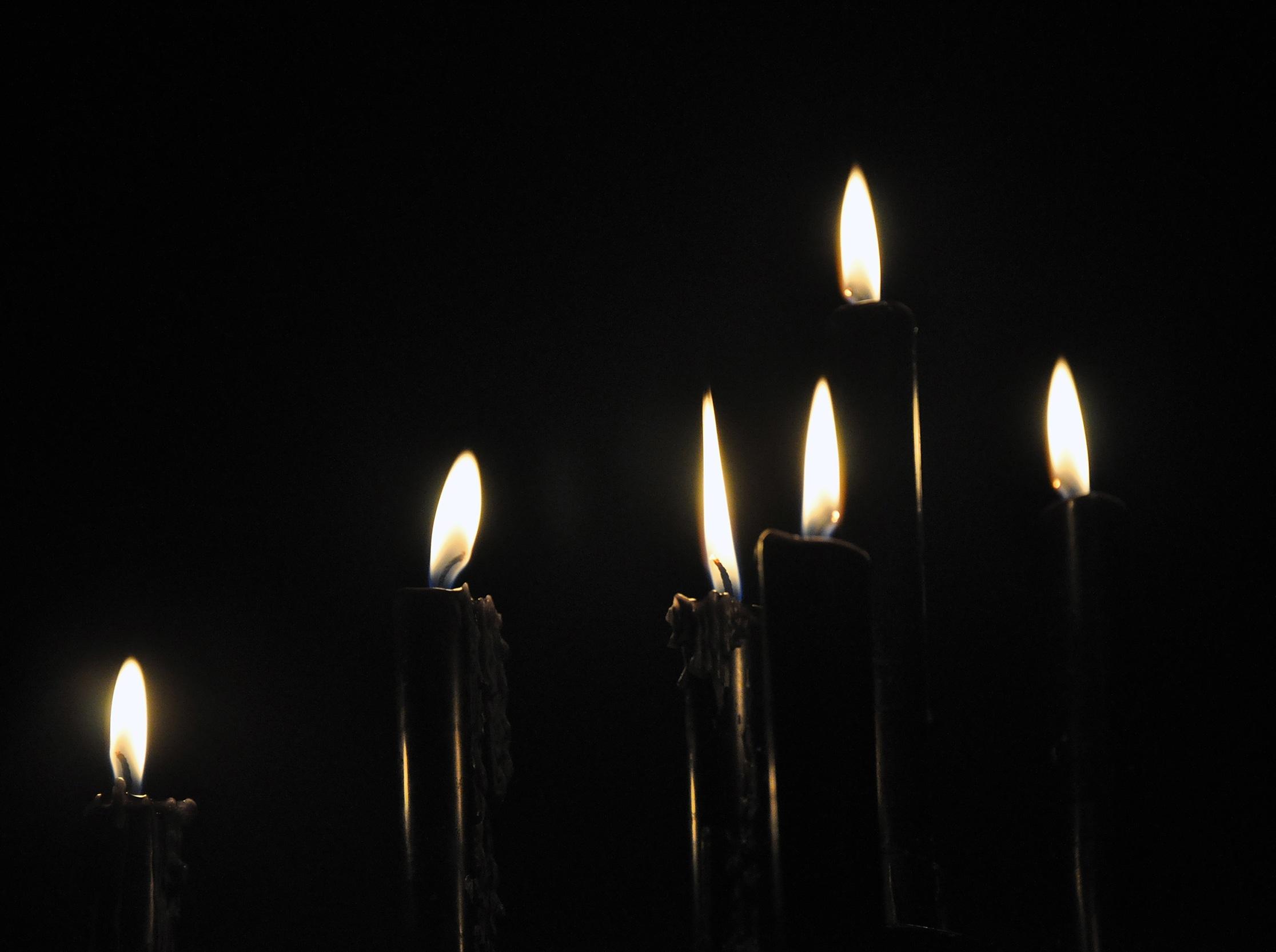 Light Glowing Night Dark Celebration Decoration Flame Fire Romantic Darkness Street Candle Lighting Decor Ornament