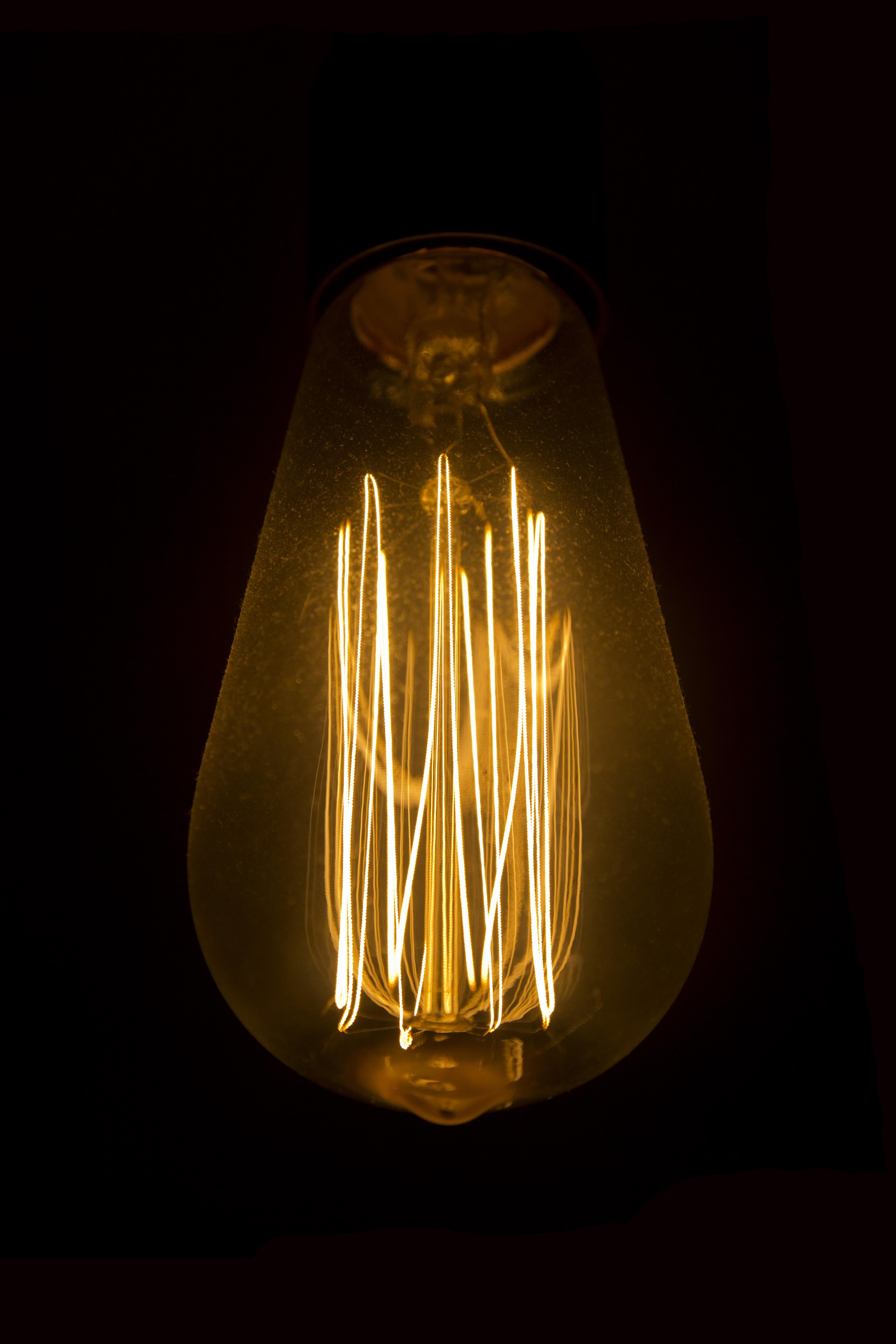 Fotos gratis ligero brillante tecnolog a vaso - Iluminacion sin electricidad ...