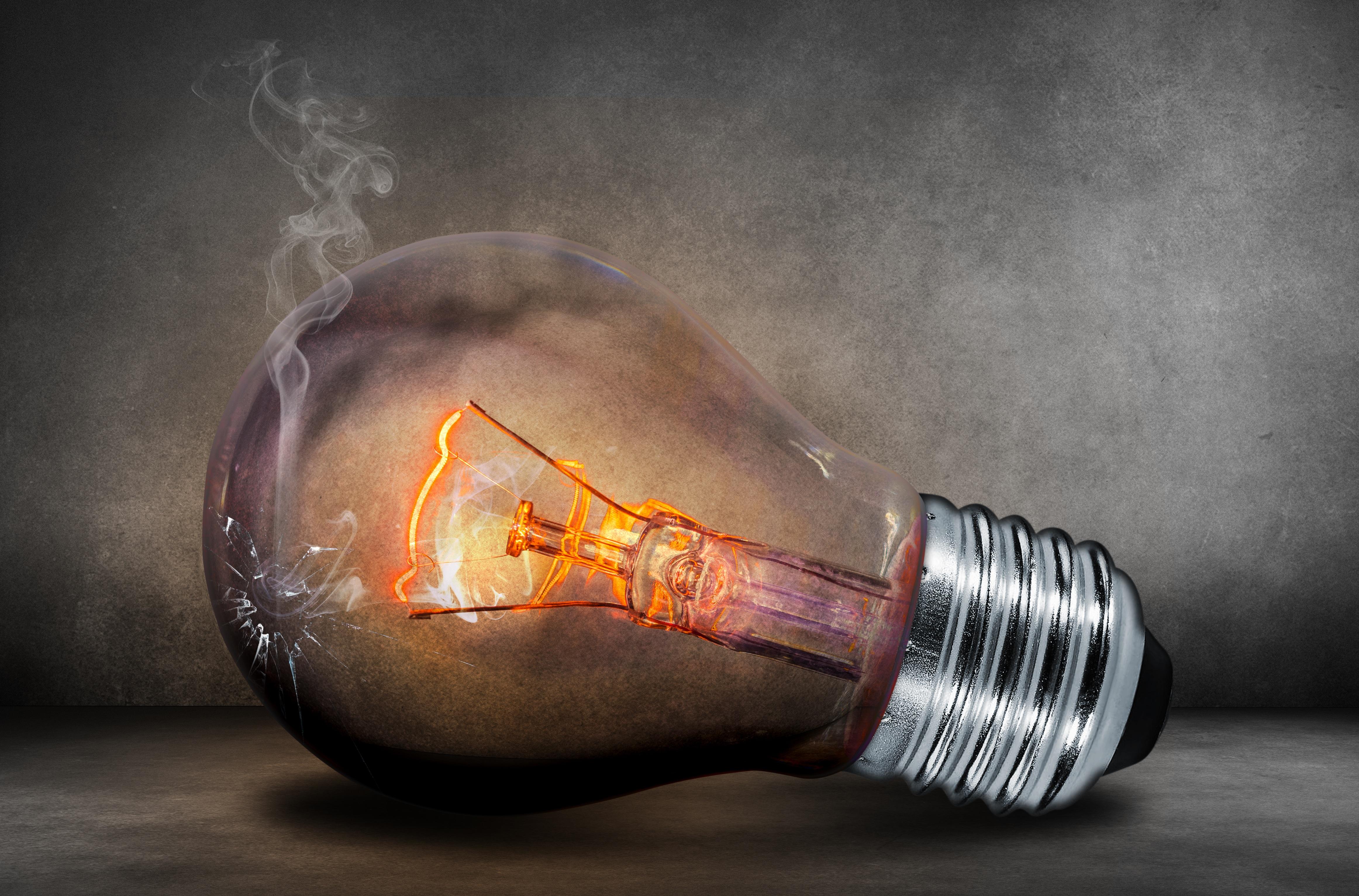 Light Macro Glow Darkness Lamp Bulb Lighting Filament Energy Current Elektrik Wire