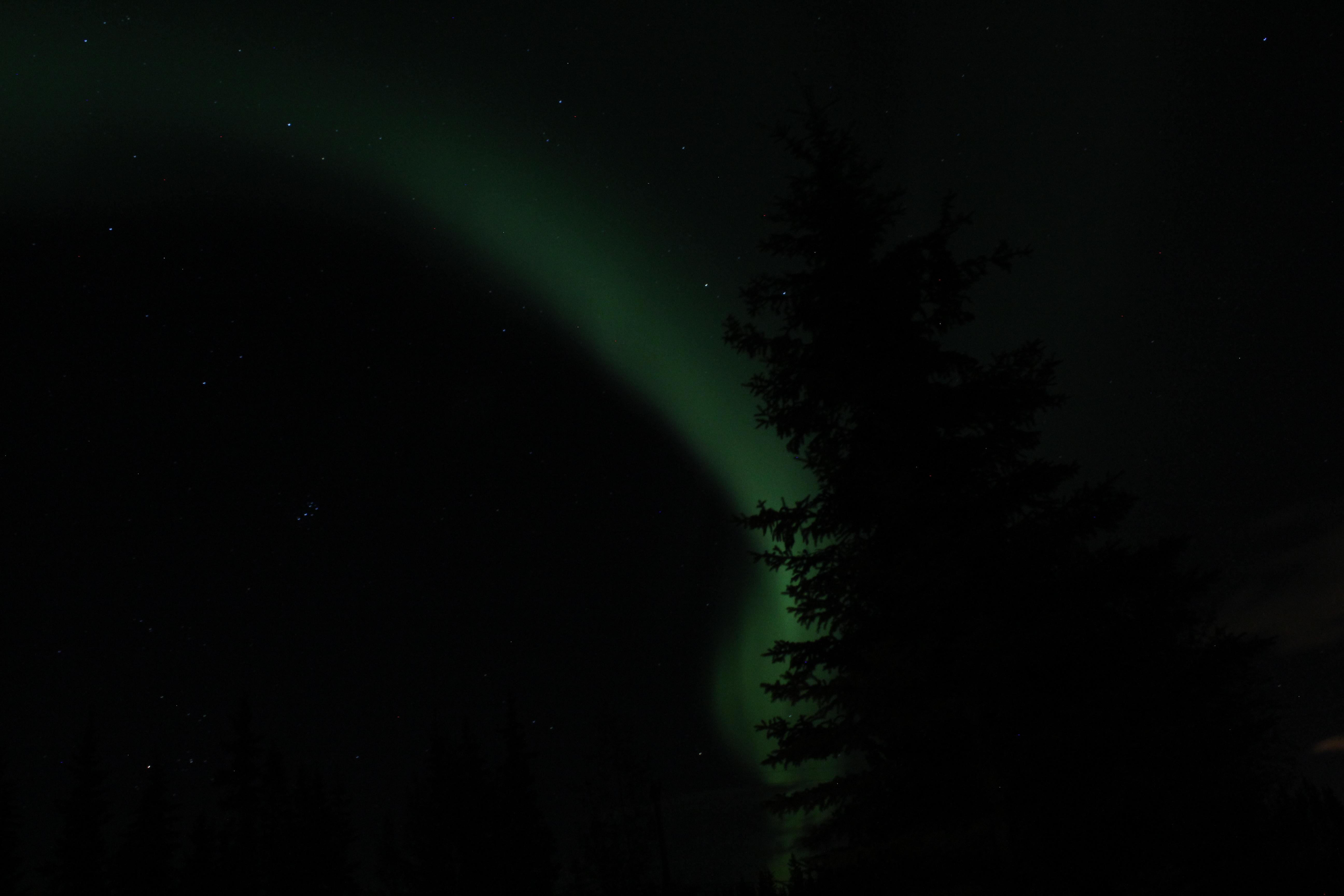 Free light night atmosphere darkness aurora alaska