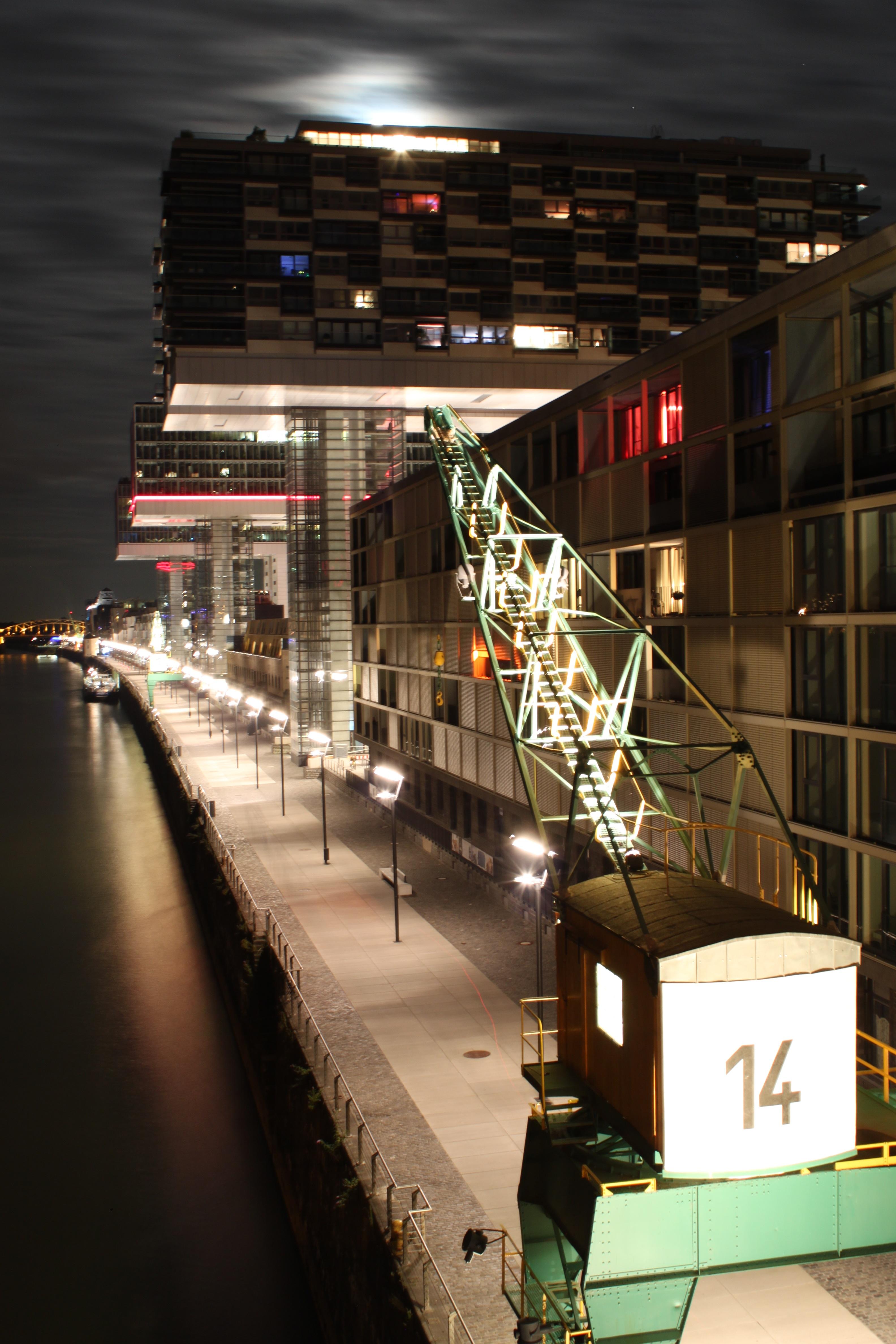 Light Night City Cityscape Downtown