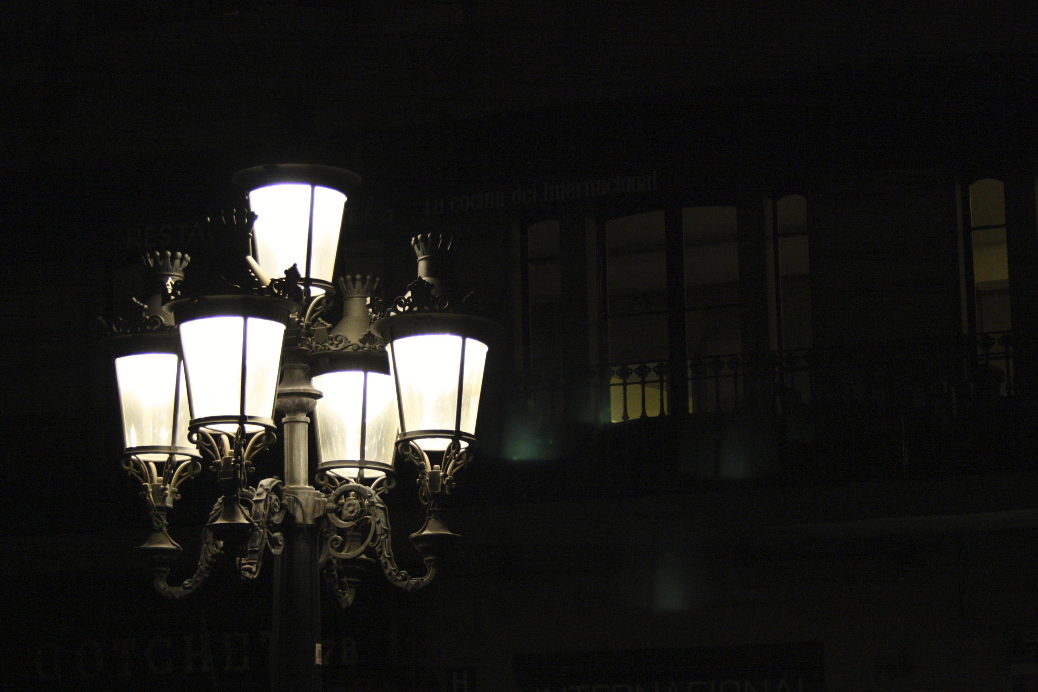Light Night Darkness Street Light Black Monochrome Lighting Blackandwhite Publicdomain Blackbackground Streetlamp Decorative Light Fixture Public Domain