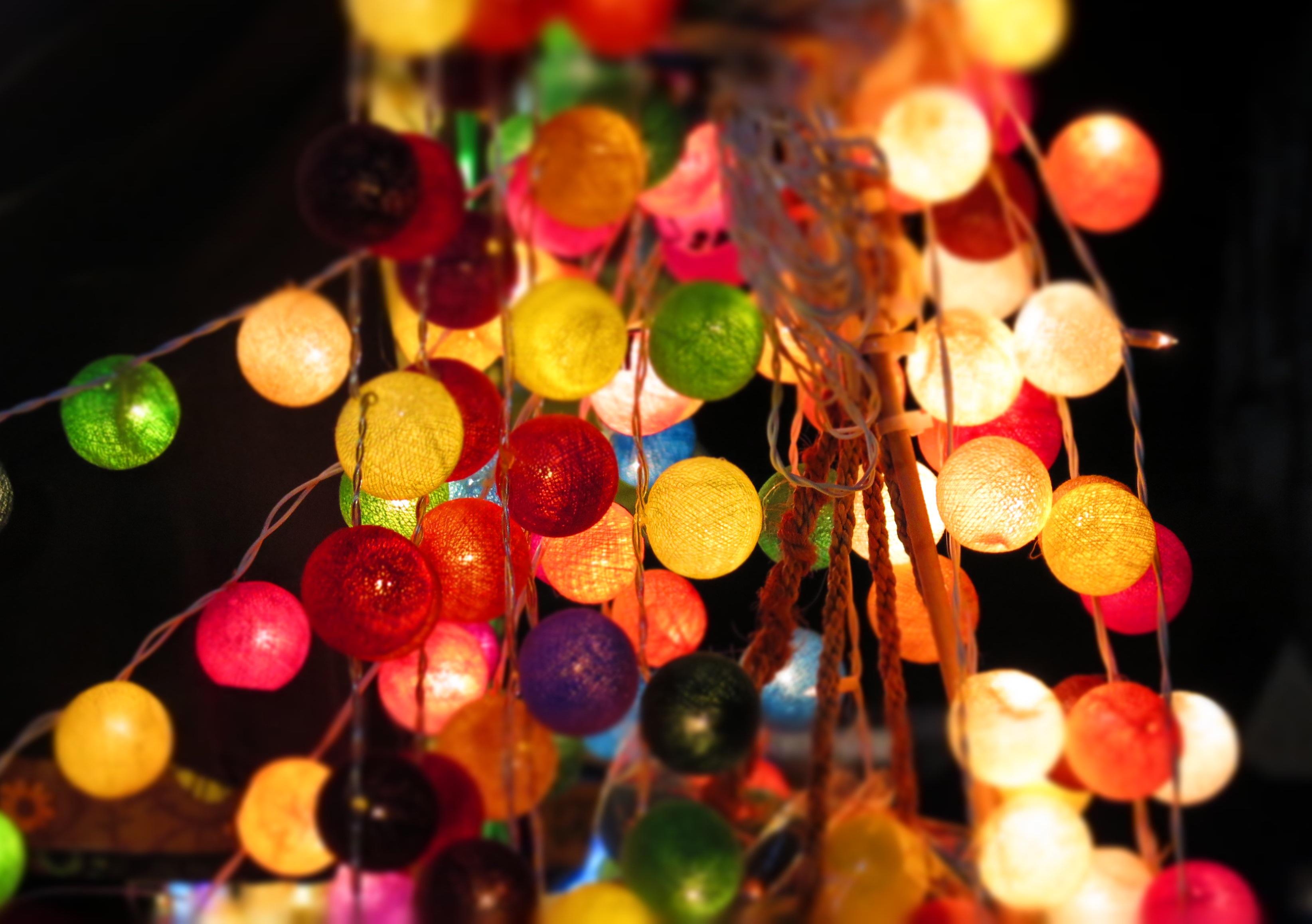 jardn iluminacin rbol de navidad decoracin navidea bolas dulzura fotografa macro iluminacin exterior luces de navidad