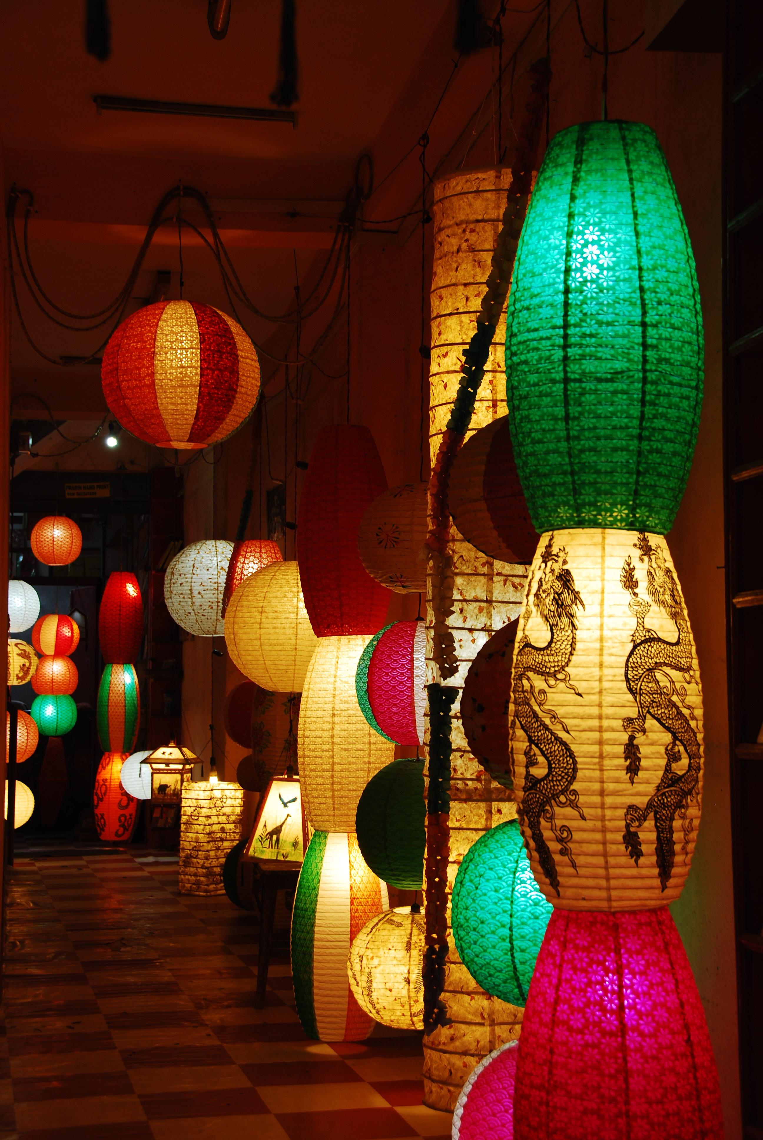 Китайские фонари картинки
