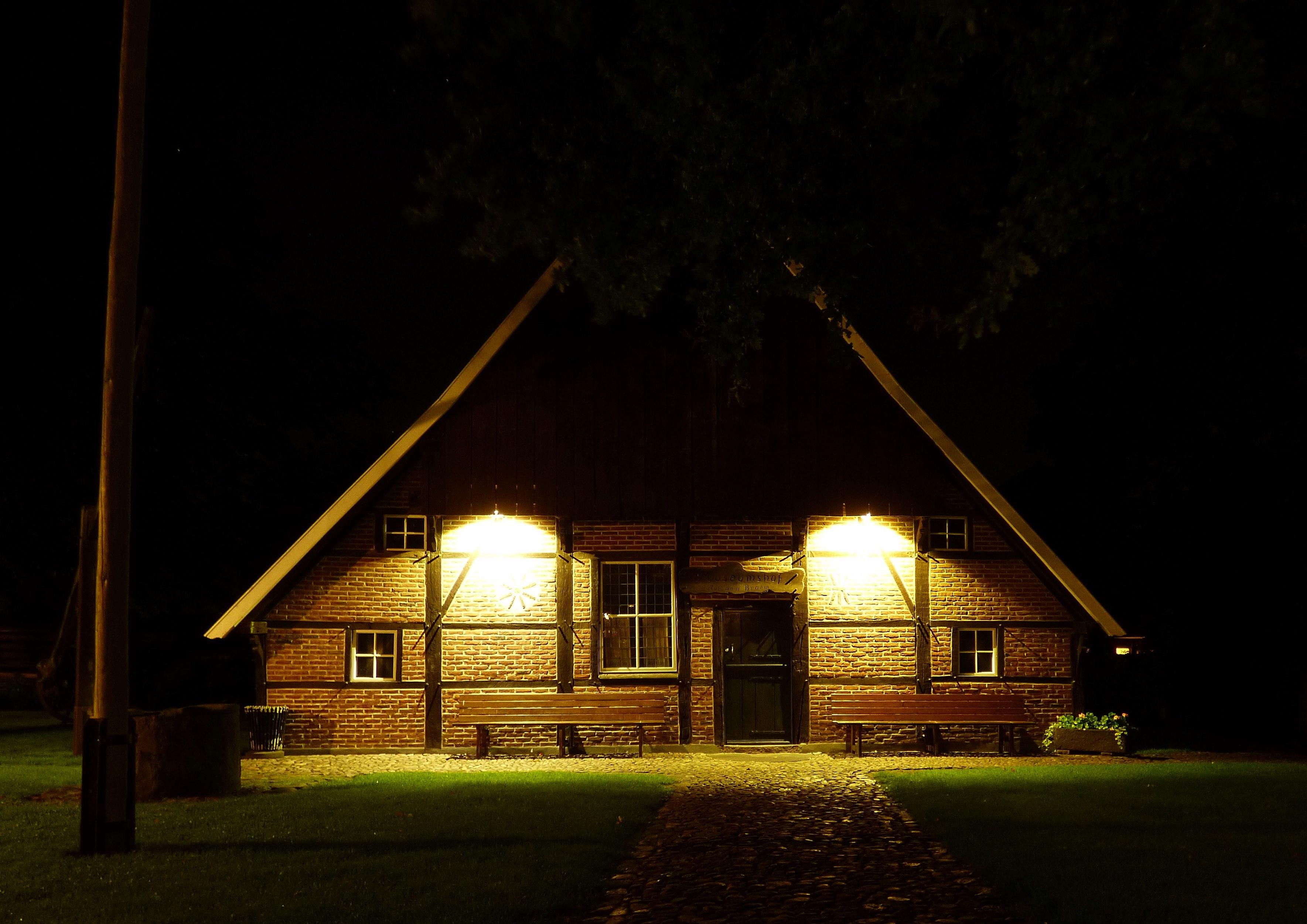 домики ночью картинки надо