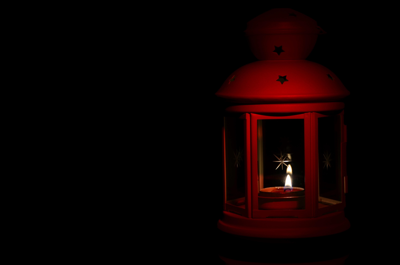 Fotoğraf ışık Gece Fener Kırmızı Karanlık Mum Aydınlatma