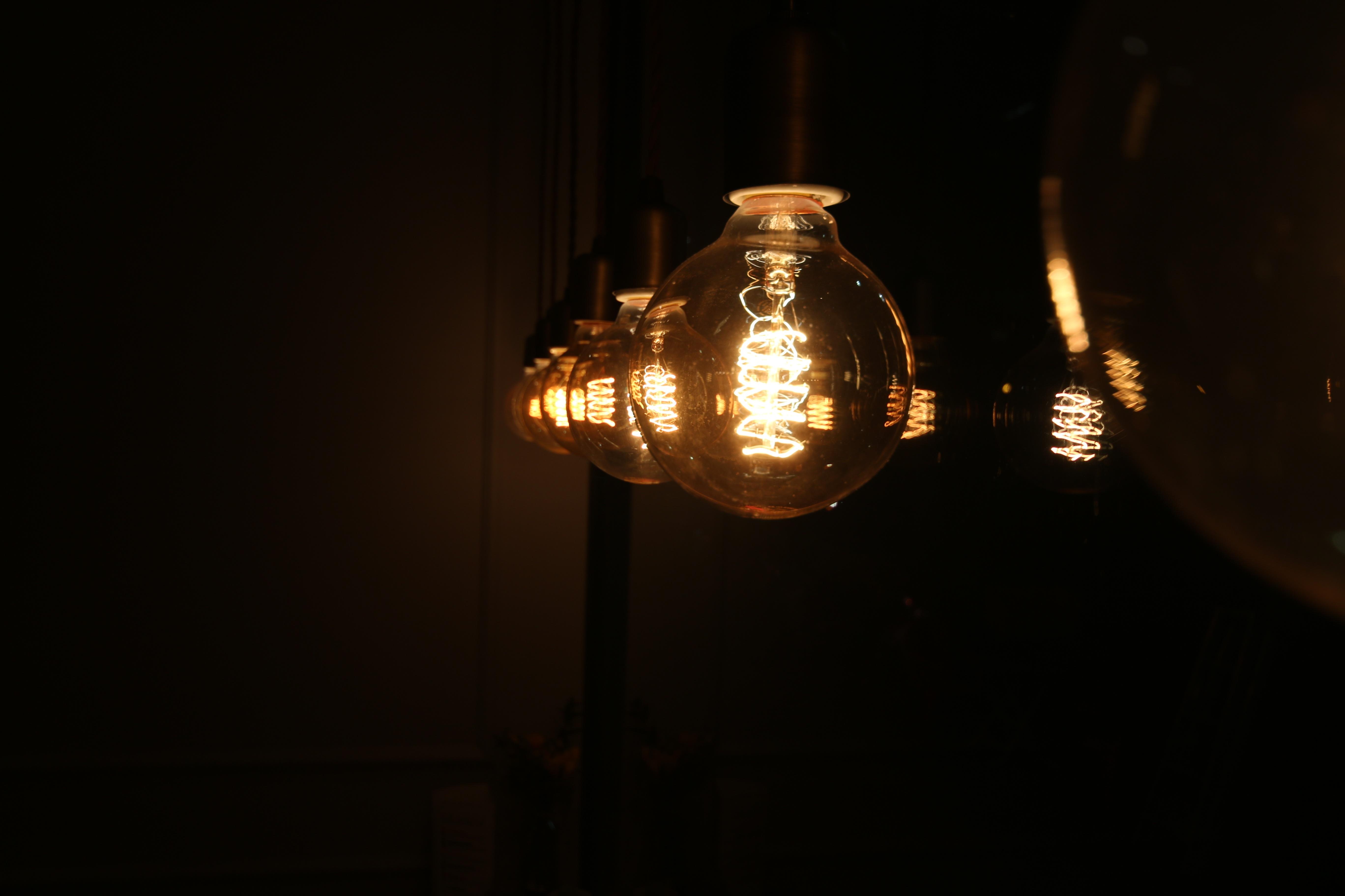 Fotos gratis ligero noche linterna reflexi n for Lampara de noche castorama