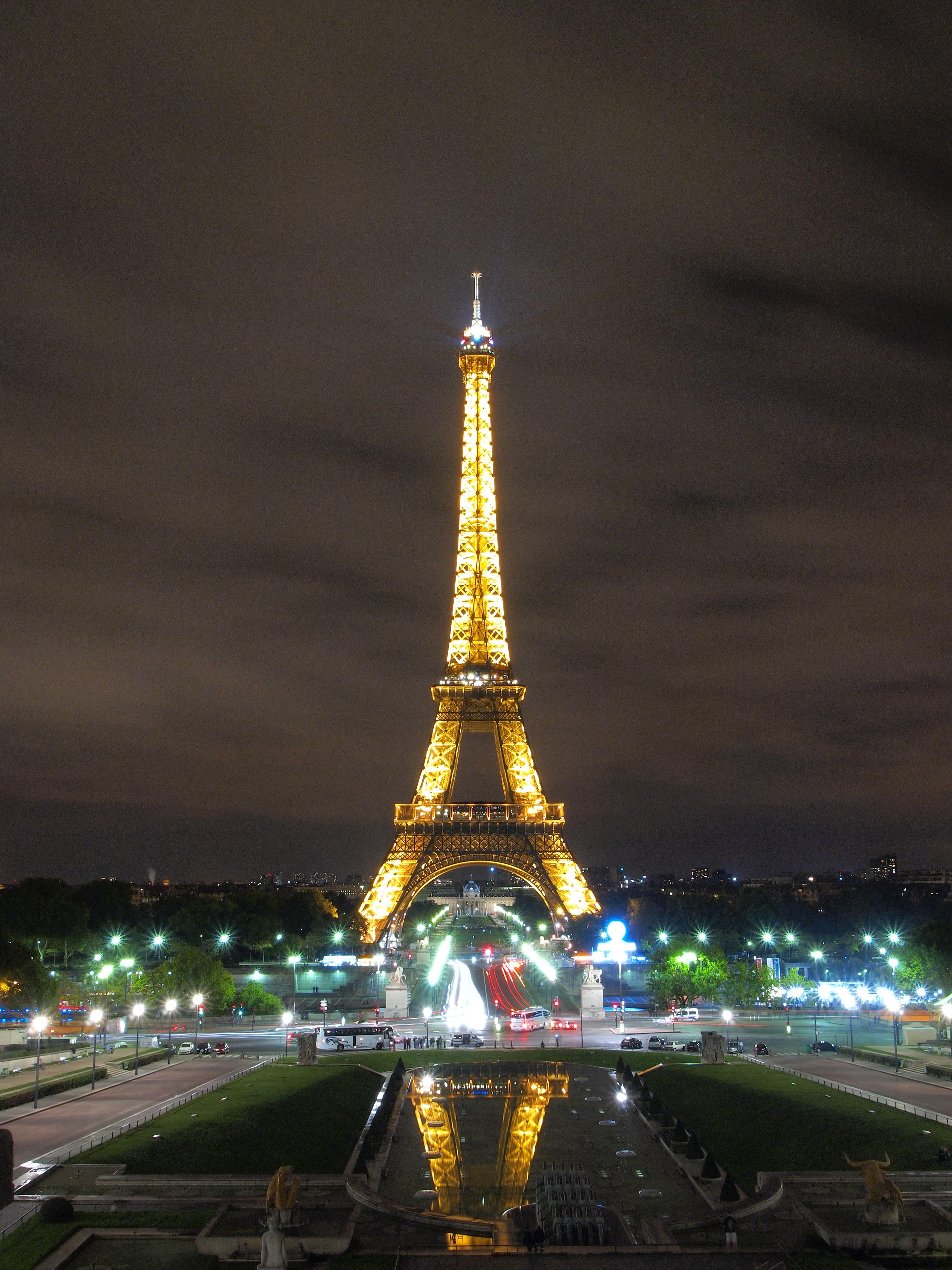 Bildet Lett Natt Paris Frankrike Kveld Tarn Landemerke Eiffeltarnet Night View 3024x4032 698214 Bilder Gratis Pxhere