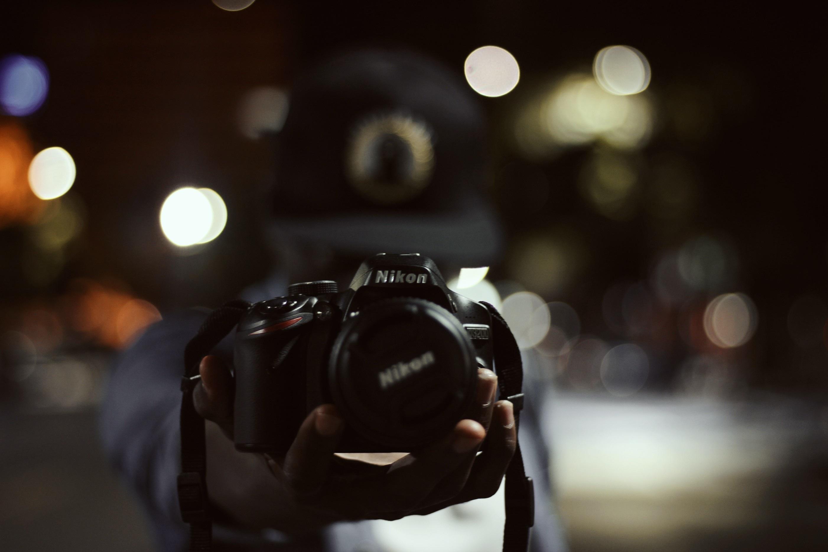 Как сделать расплывчатый фон на фотоаппарате никон