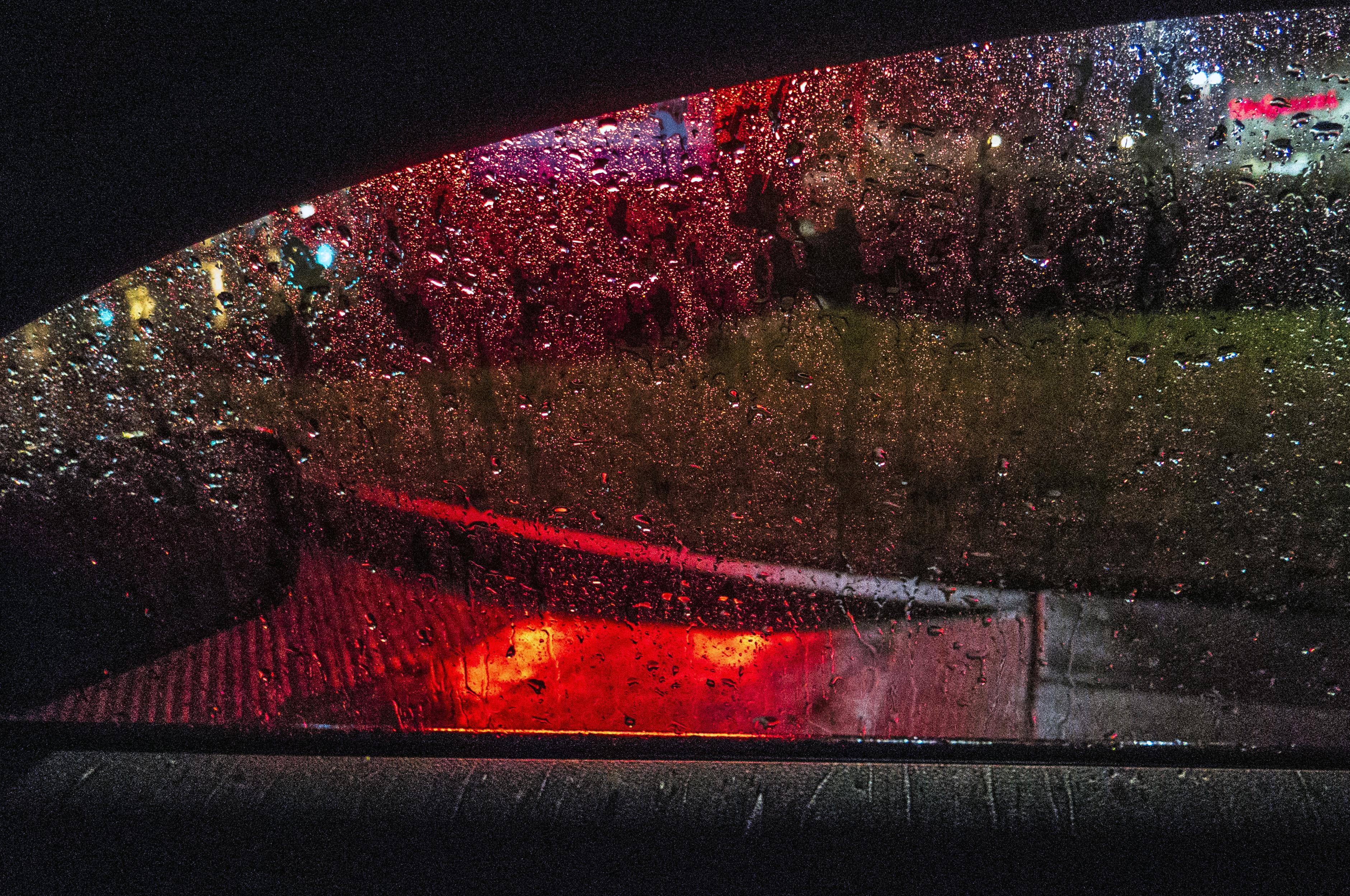 Free Images Light Night Rain Window Glass