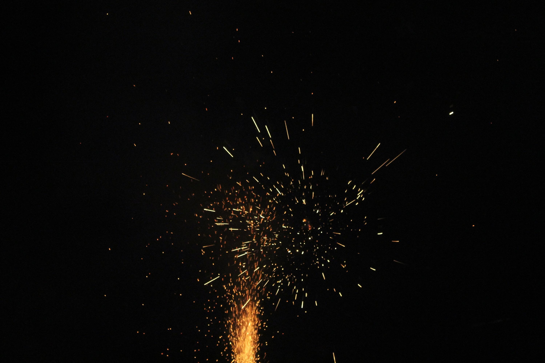 Free Images Night Pyrotechnics Rocket Explosion
