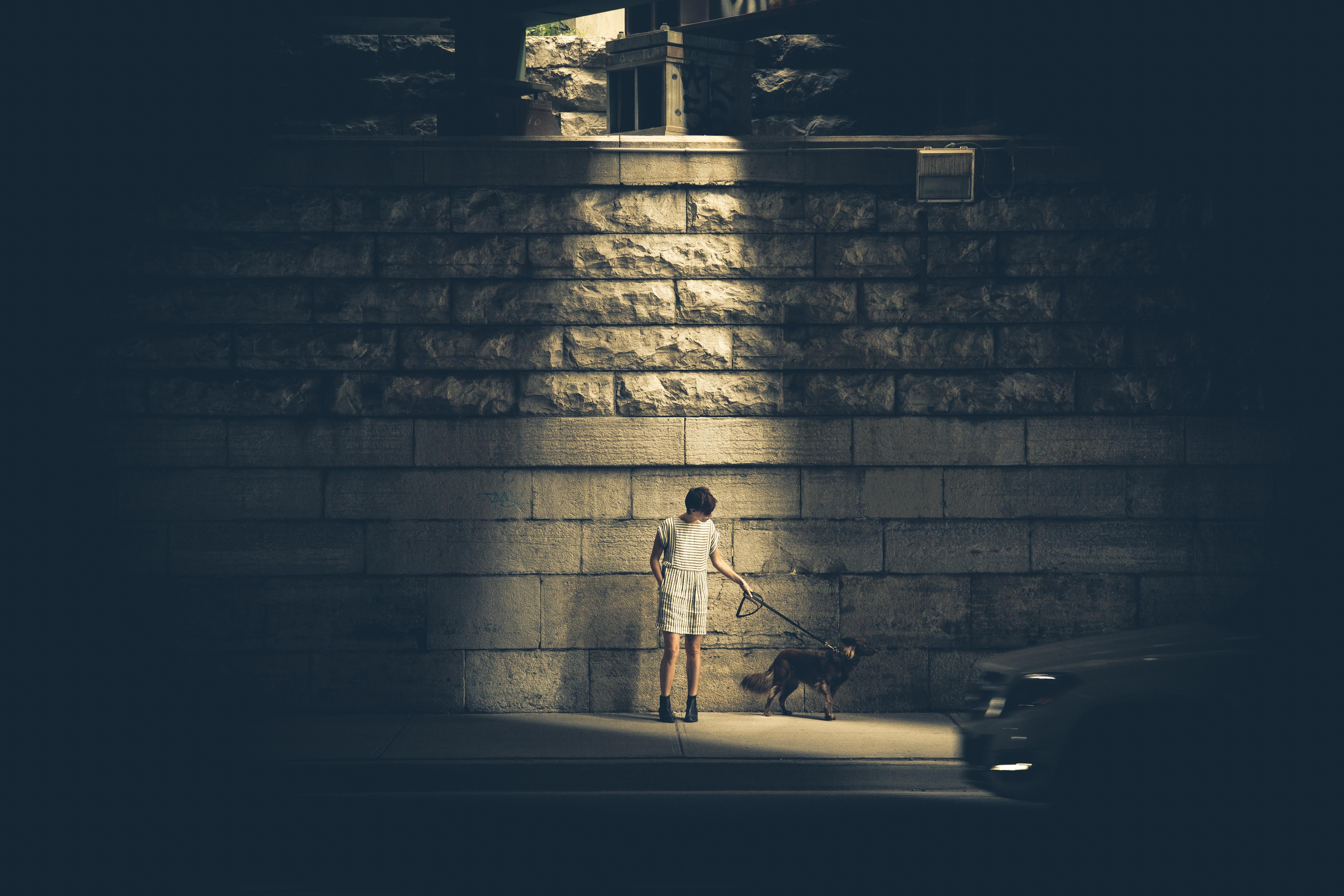 wandering alone at night - HD3840×2560