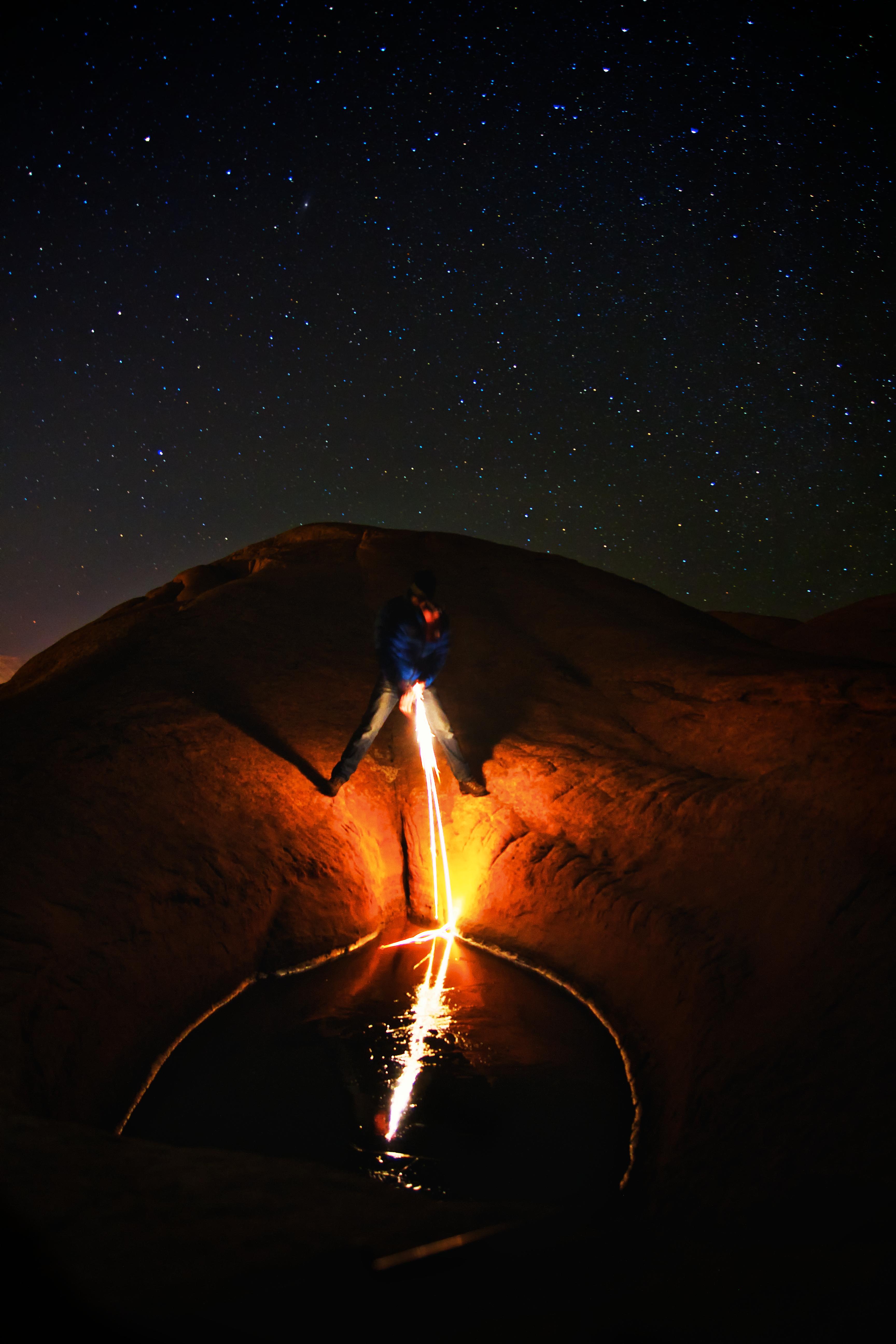 Fotos gratis : ligero, noche, estrella, retrato, canon, fuego ...