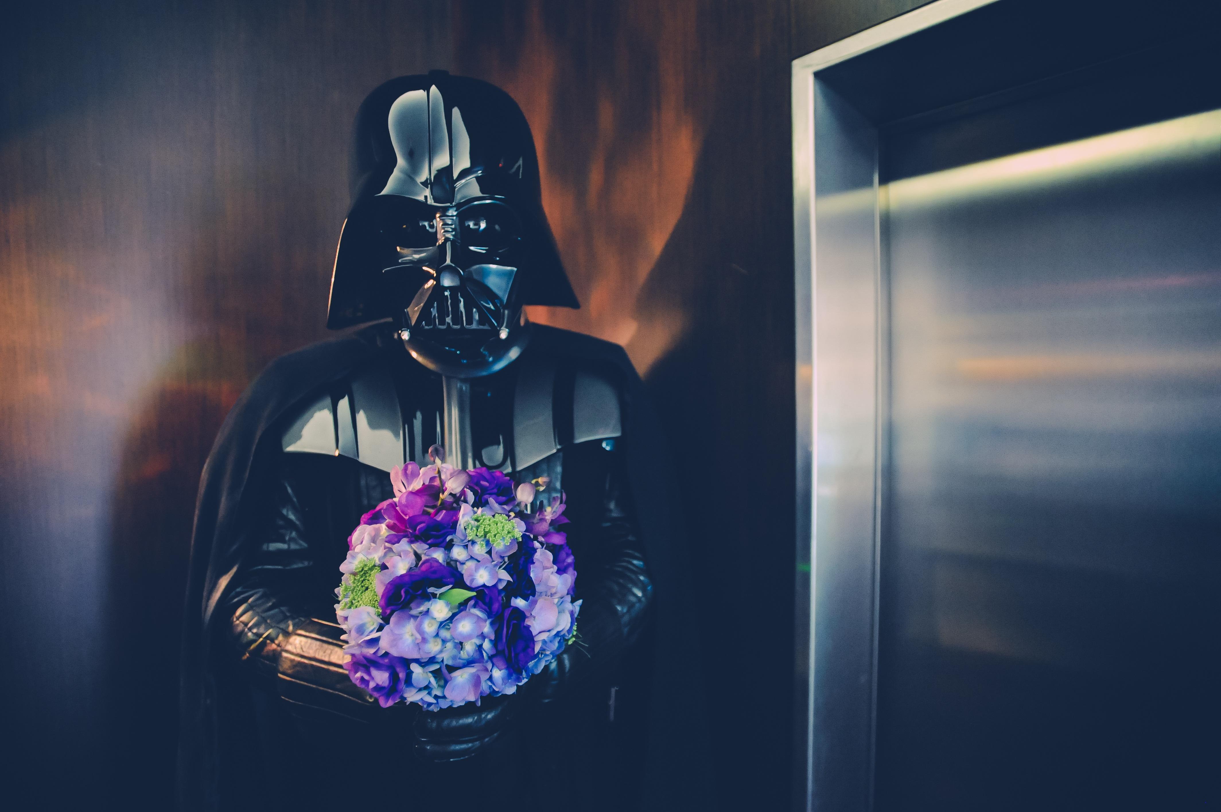 Light Photography Flower Dark Soldier Color Darkness Blue Wedding Star Wars Lift Photograph Elevator Screenshot Darth