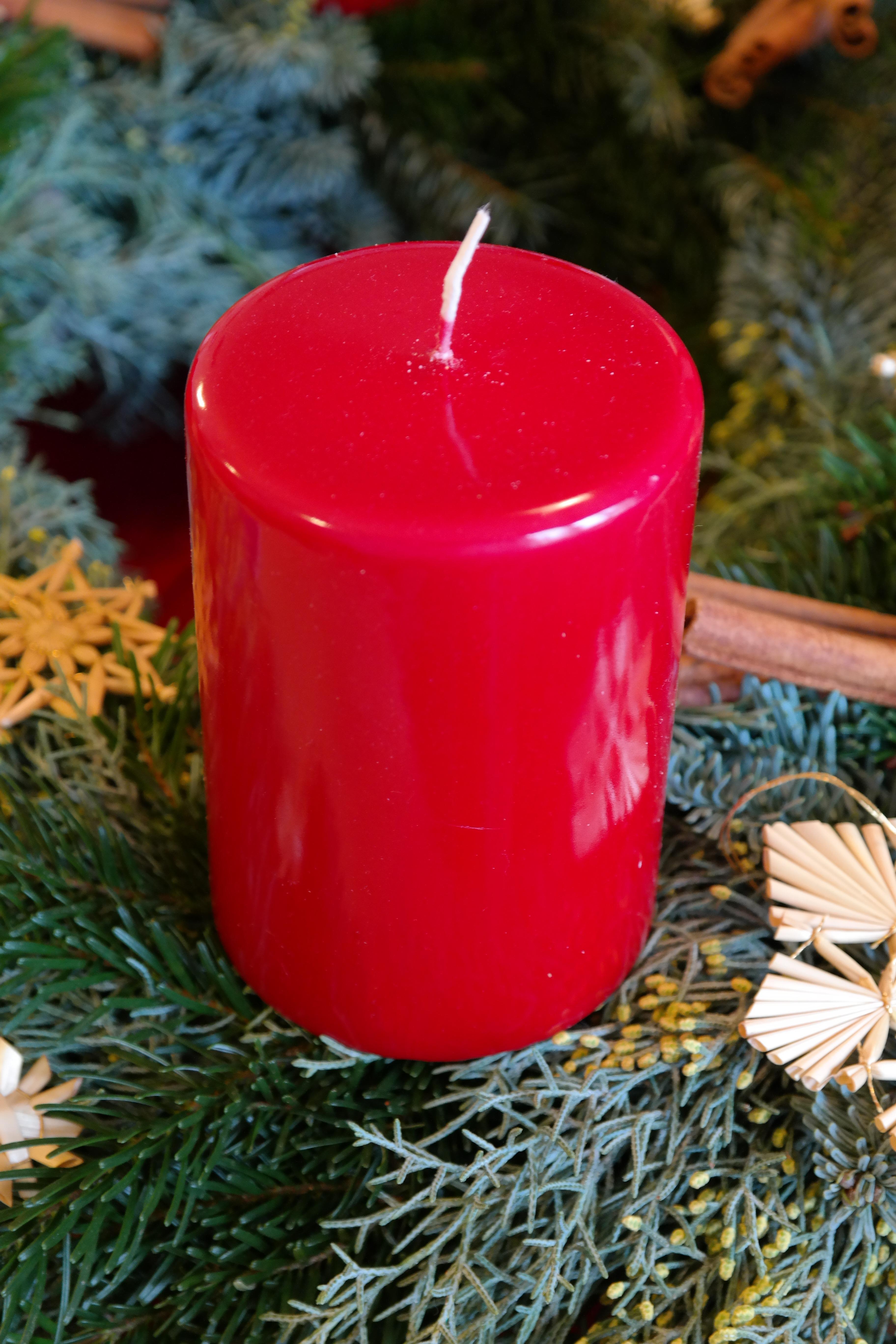 images gratuites lumi re plante fleur rouge produire vacances bougie clairage d cor. Black Bedroom Furniture Sets. Home Design Ideas