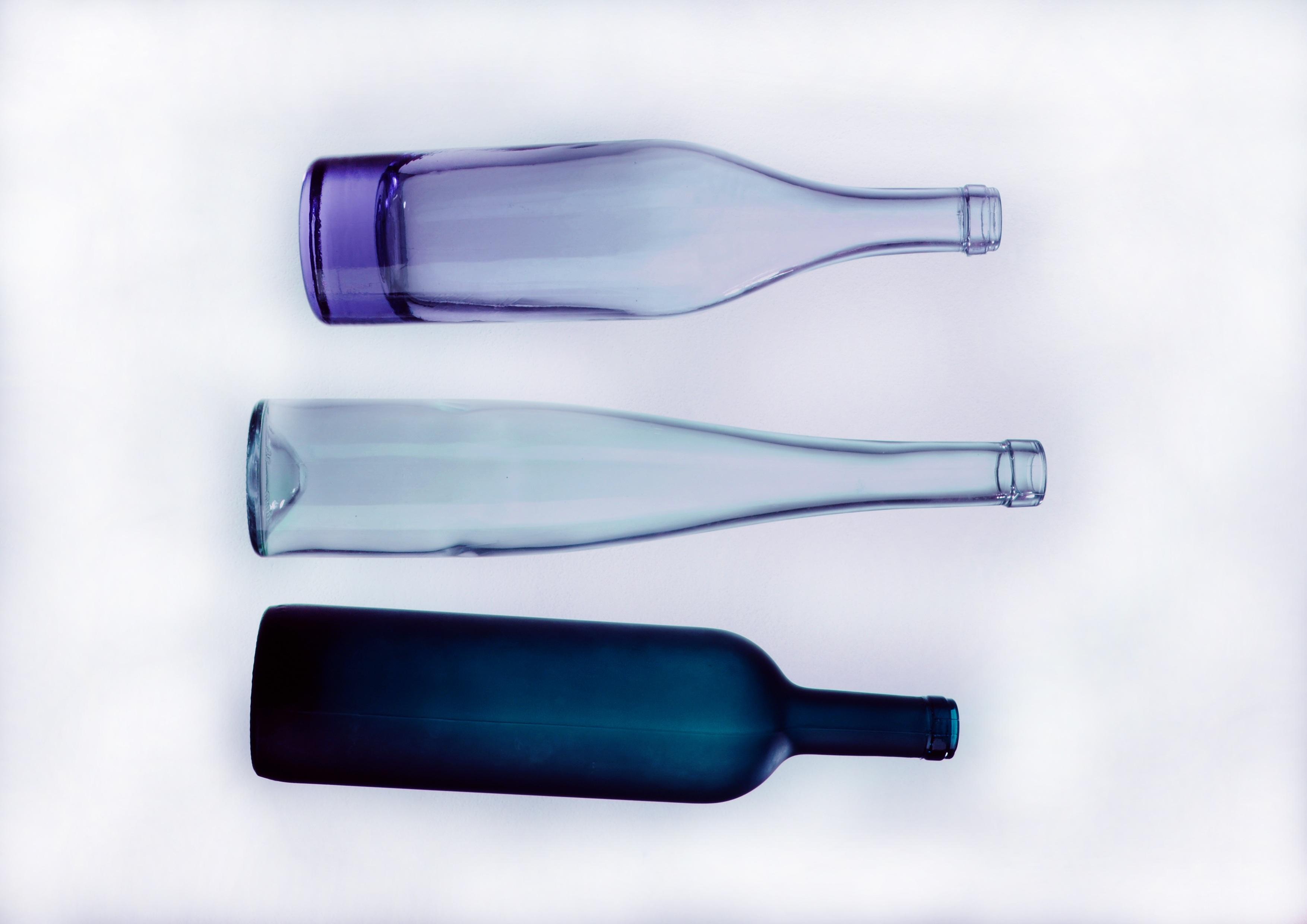 Gambar Ungu Kaca Foto Warna Studio Botol Biru Masih Hidup