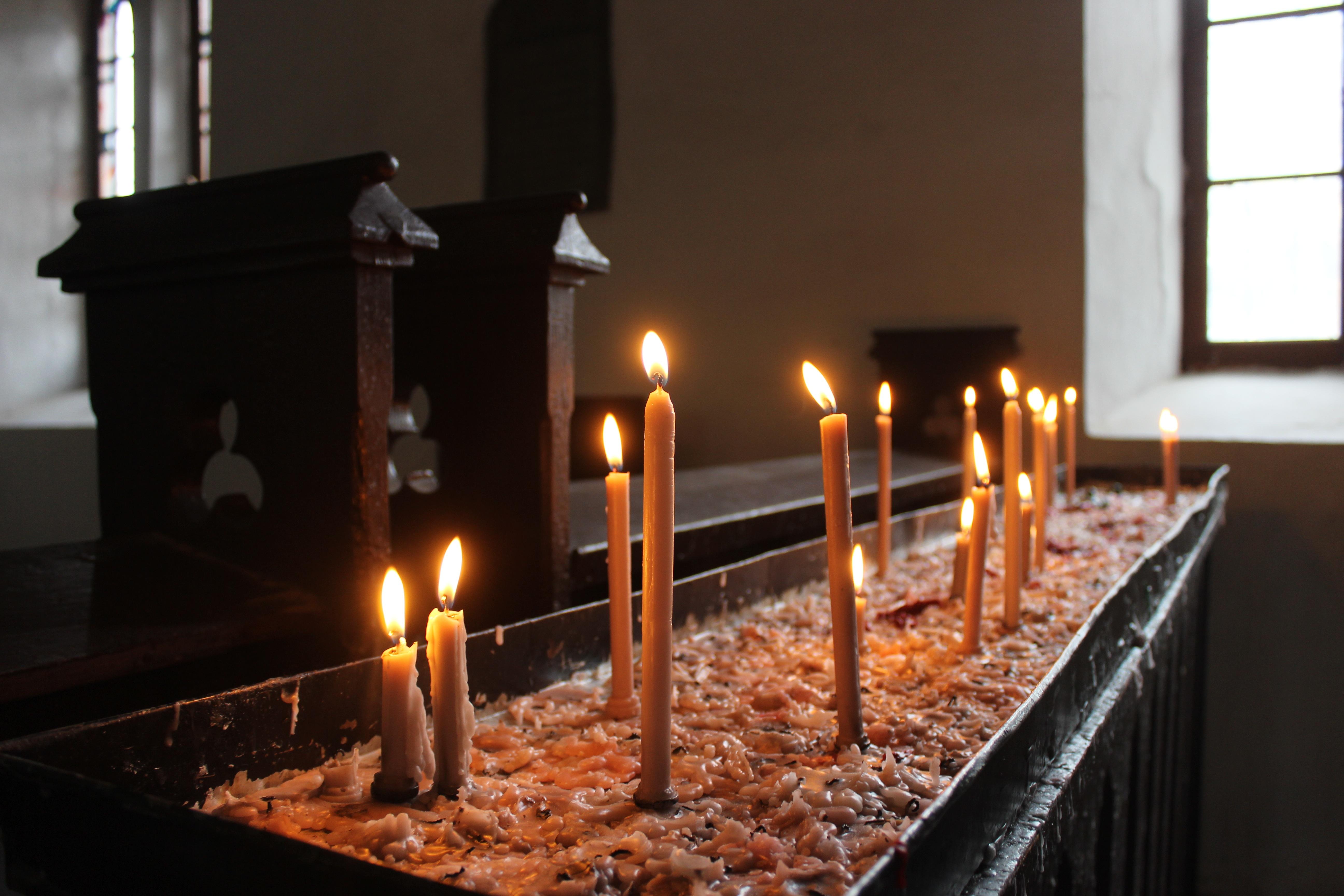 Как сделать церковную свечу 95