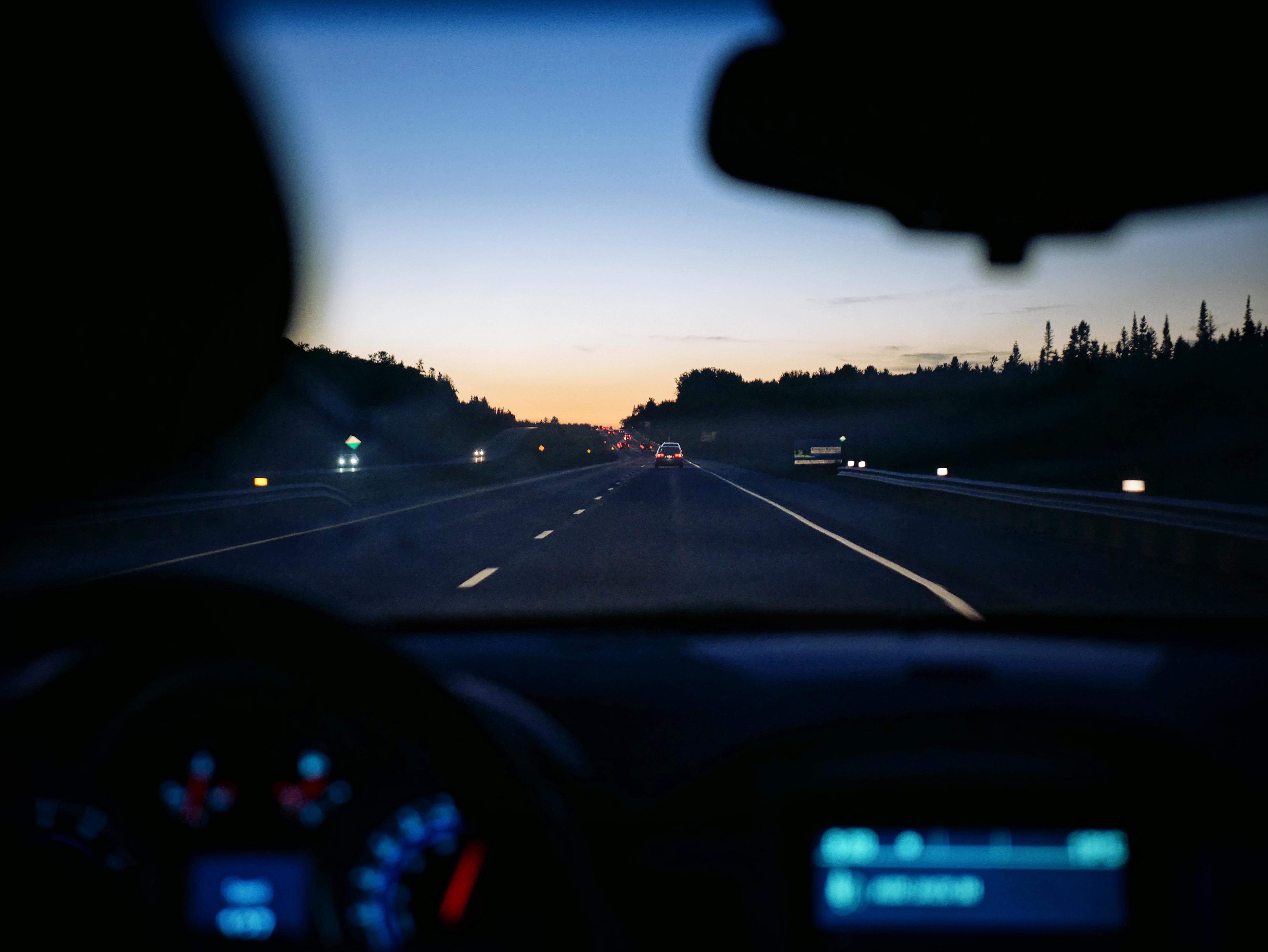 фото ночной дороги из авто мире нет ничего