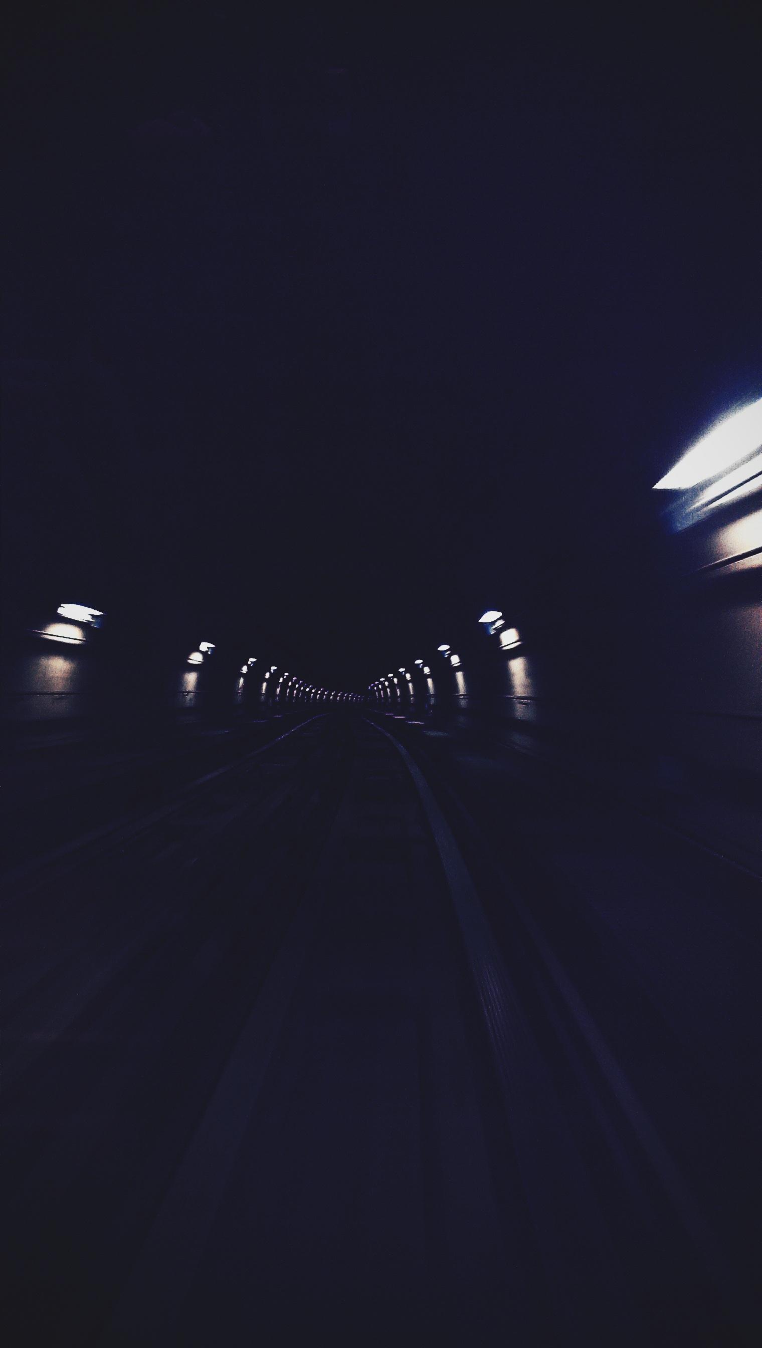 Darmowe Zdjęcia Lekki Droga Noc Tunel Ciemny Ciemność