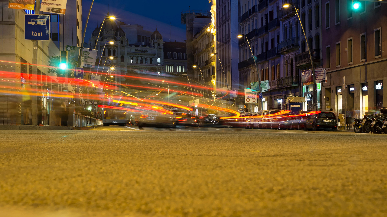Images Gratuites Lumi 232 Re Route Circulation Rue Nuit
