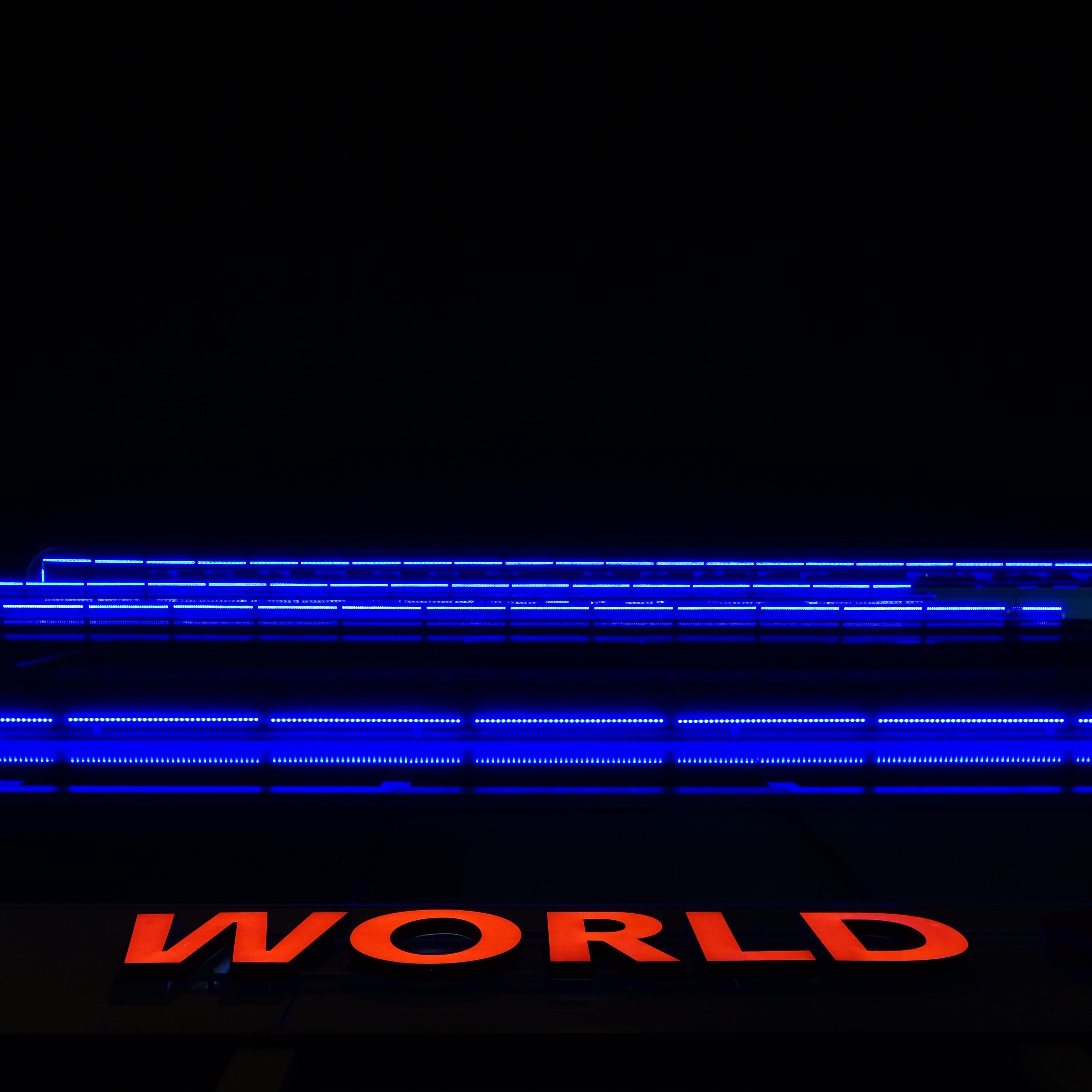 Light Line Red Blue Lighting