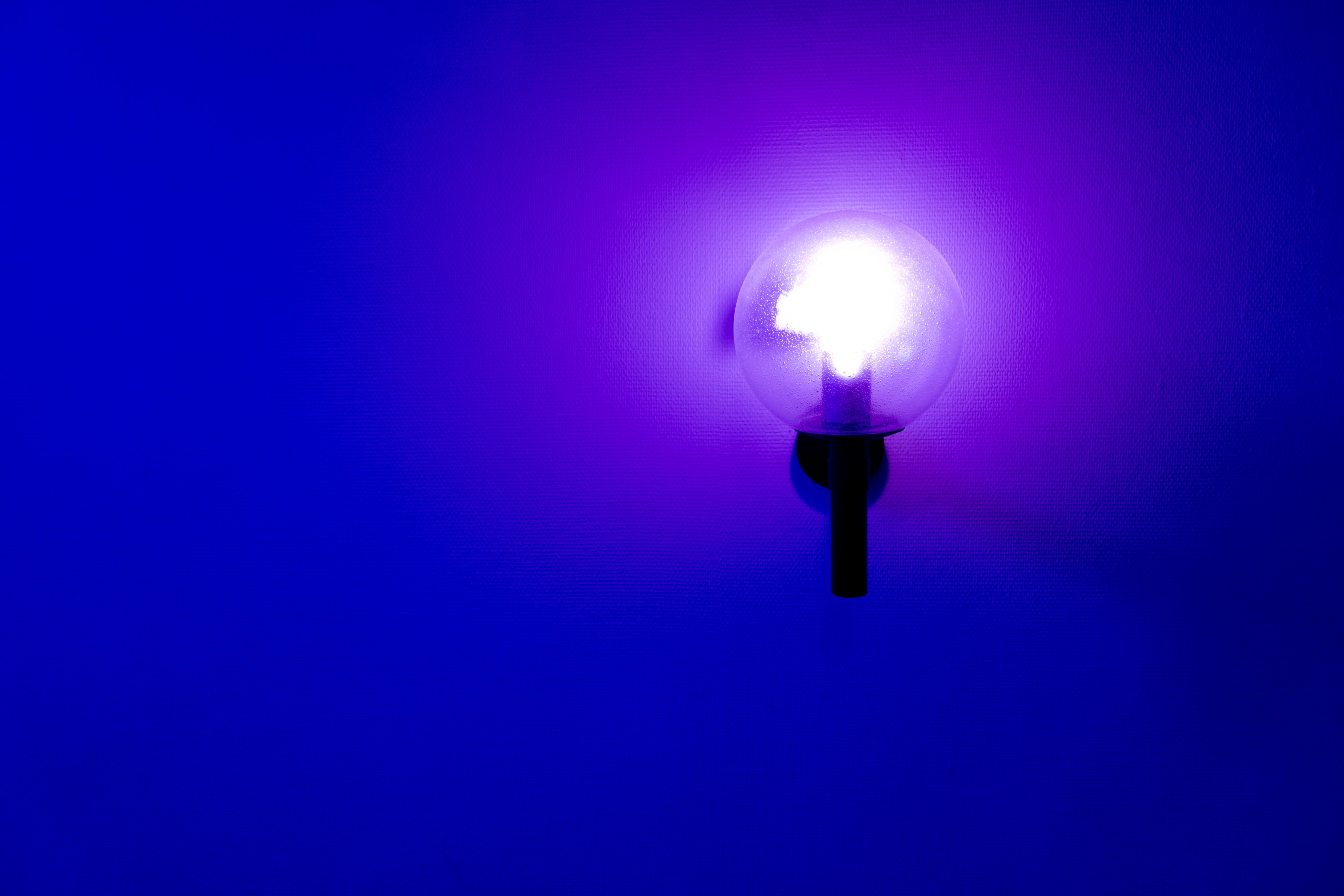 light sky dark lantern blue street light lamp lighting circle lens flare neon light blue light neon blue computer wallpaper 925644