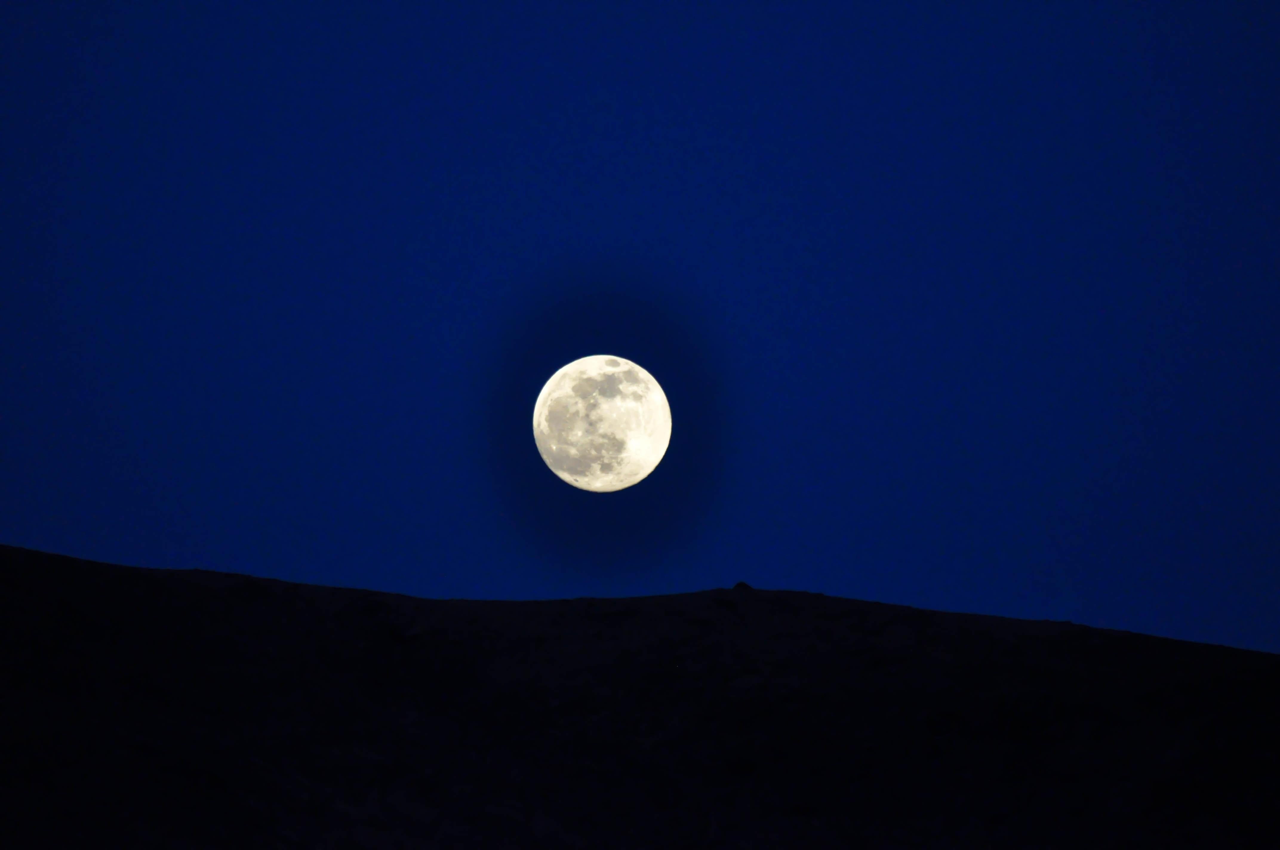 Exceptionnel Images Gratuites : lumière, ciel, nuit, atmosphère, pleine lune  RQ63
