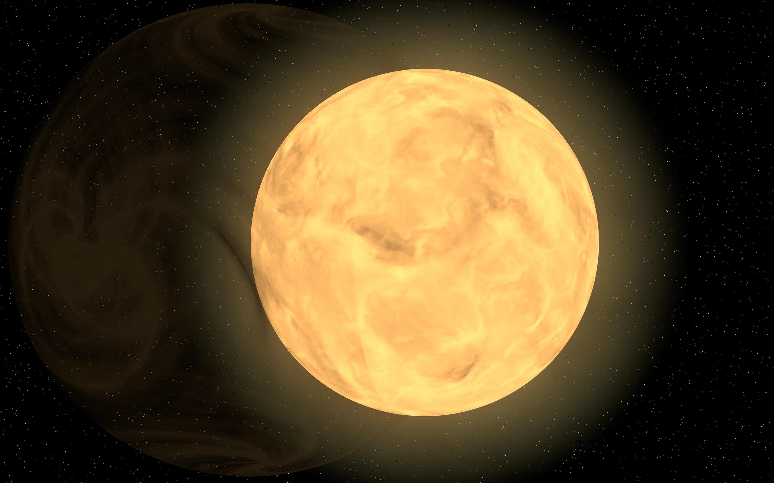 Gambar Cahaya Langit Malam Suasana Ruang Penerangan Bulan