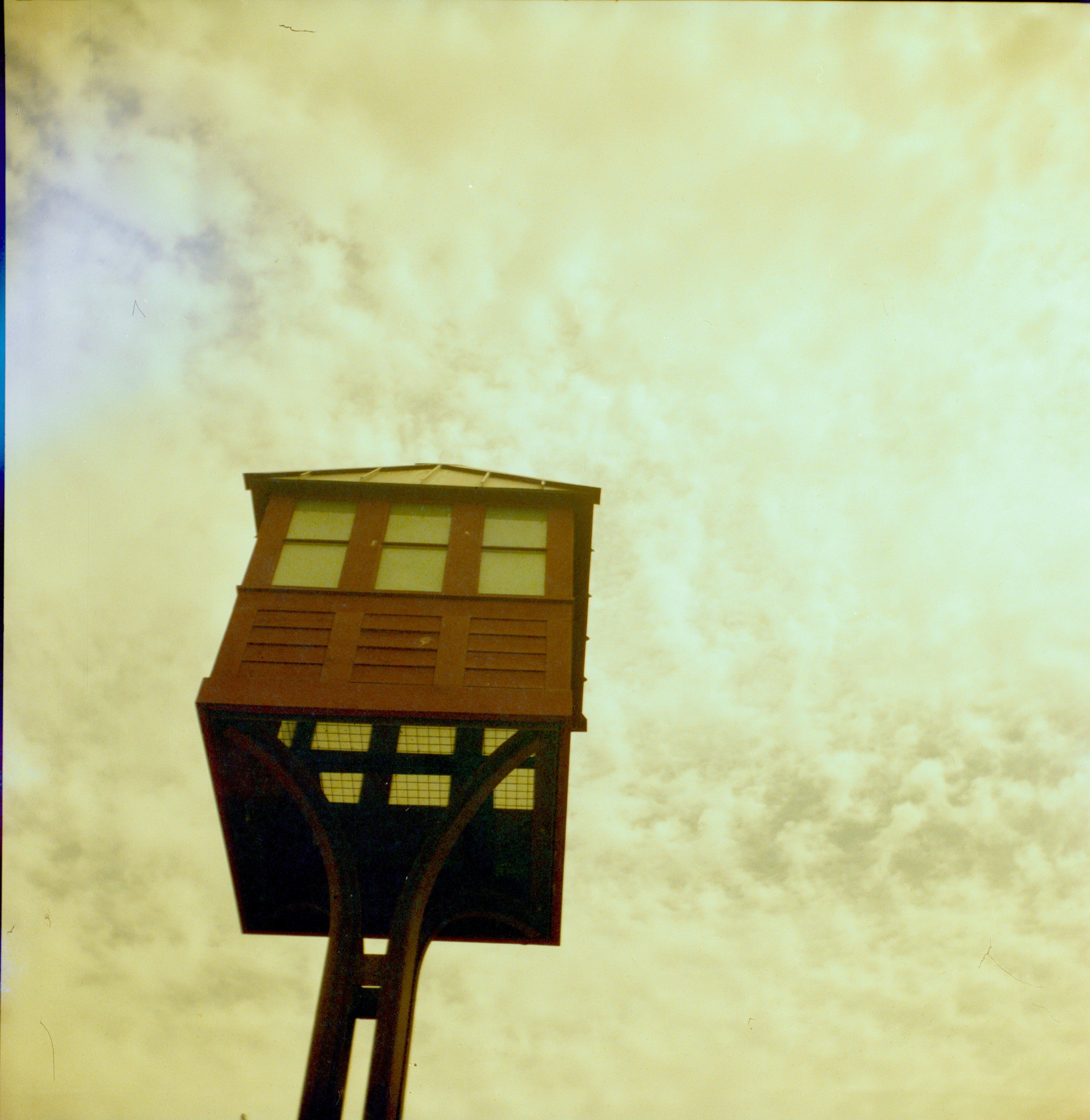 free images light sky wood fog house film color square