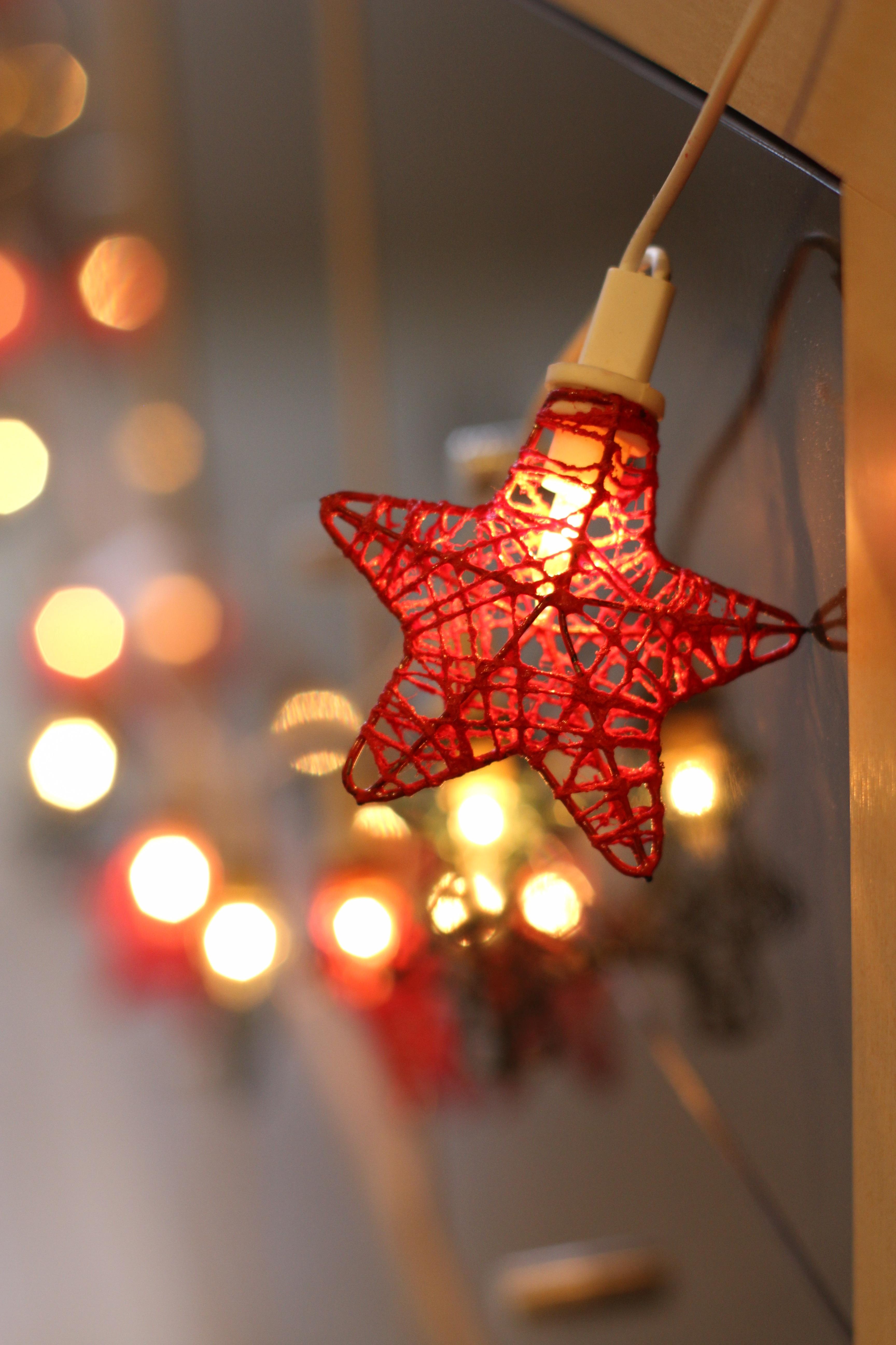 Fotos gratis : ligero, estrella, hoja, vaso, patrón, rojo, color ...