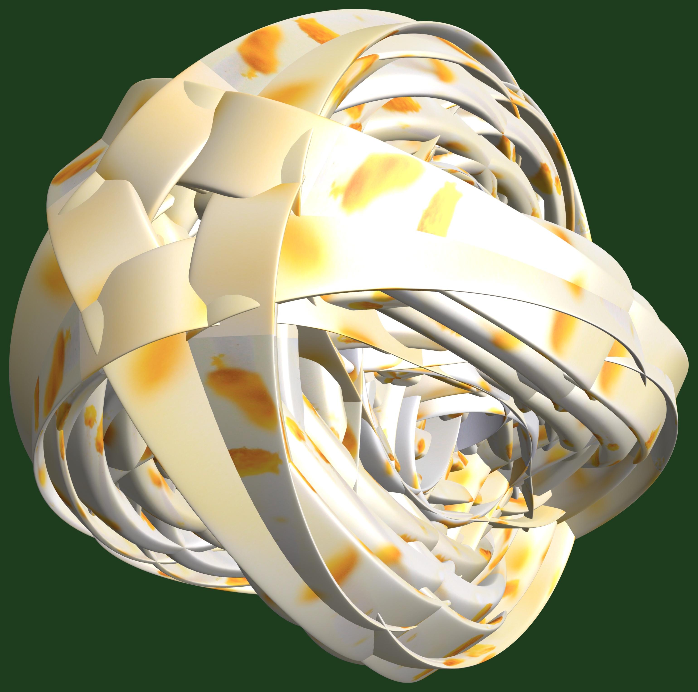 Light Structure Texture Flower Pattern Lamp Yellow Lighting Design Symmetry  Light Fixture Sphere 3d Graphic Organ