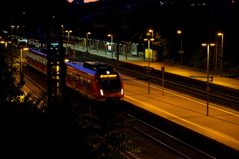 free images light night train evening vehicle platform