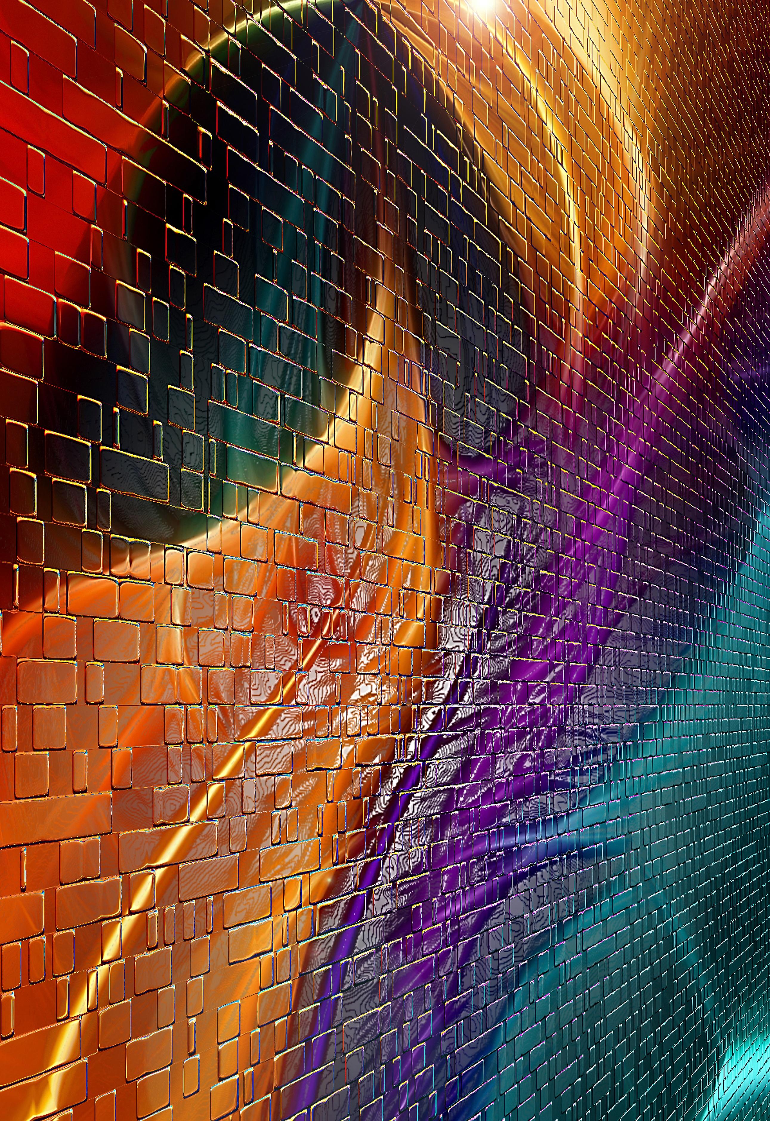 Обои Fractal, абстракция, форма, Цвет. Абстракции foto 18