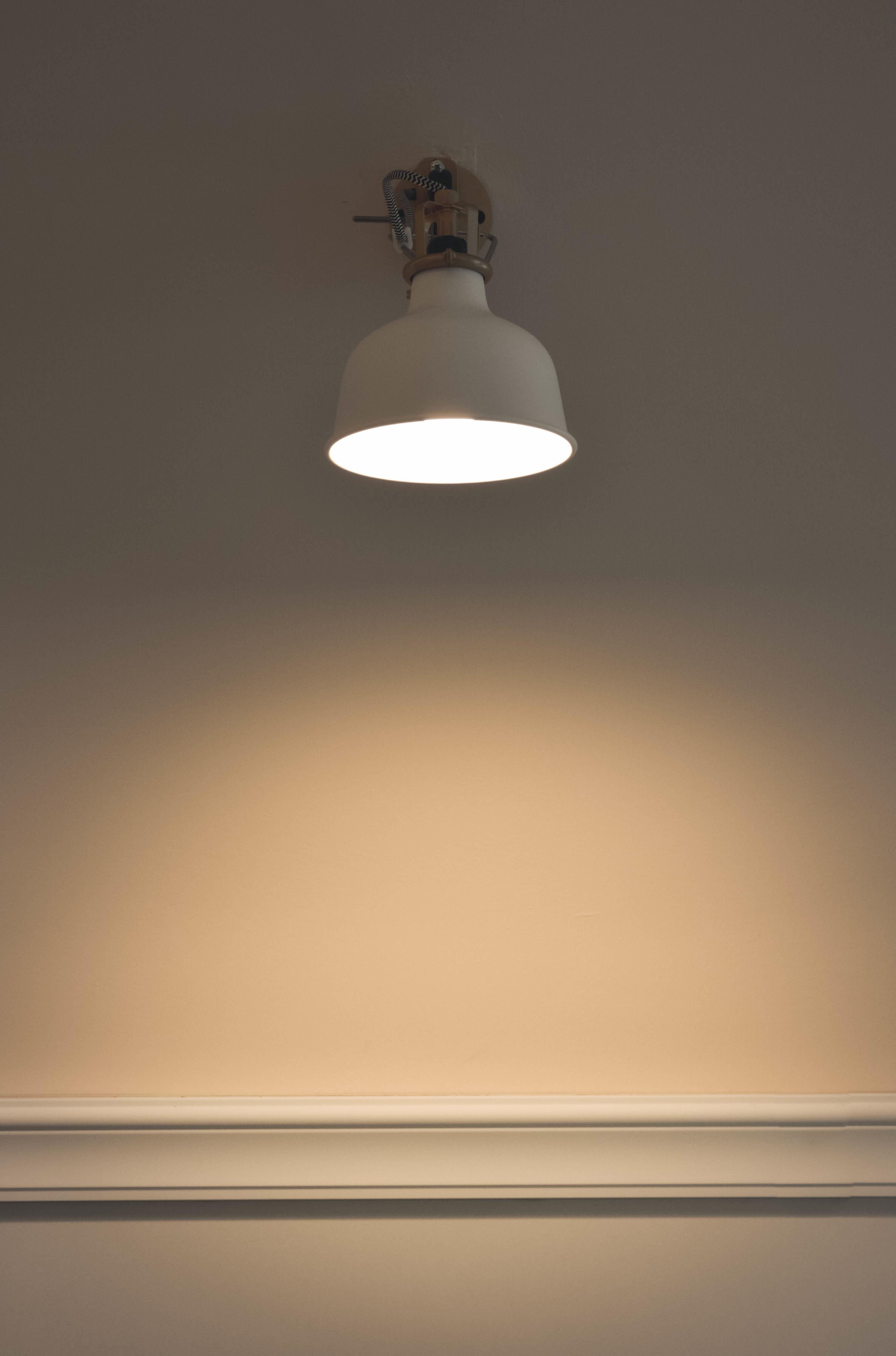 무료 이미지 빛 화이트 천장 램프 조명 전등 모양 보루 일광 백열 전구