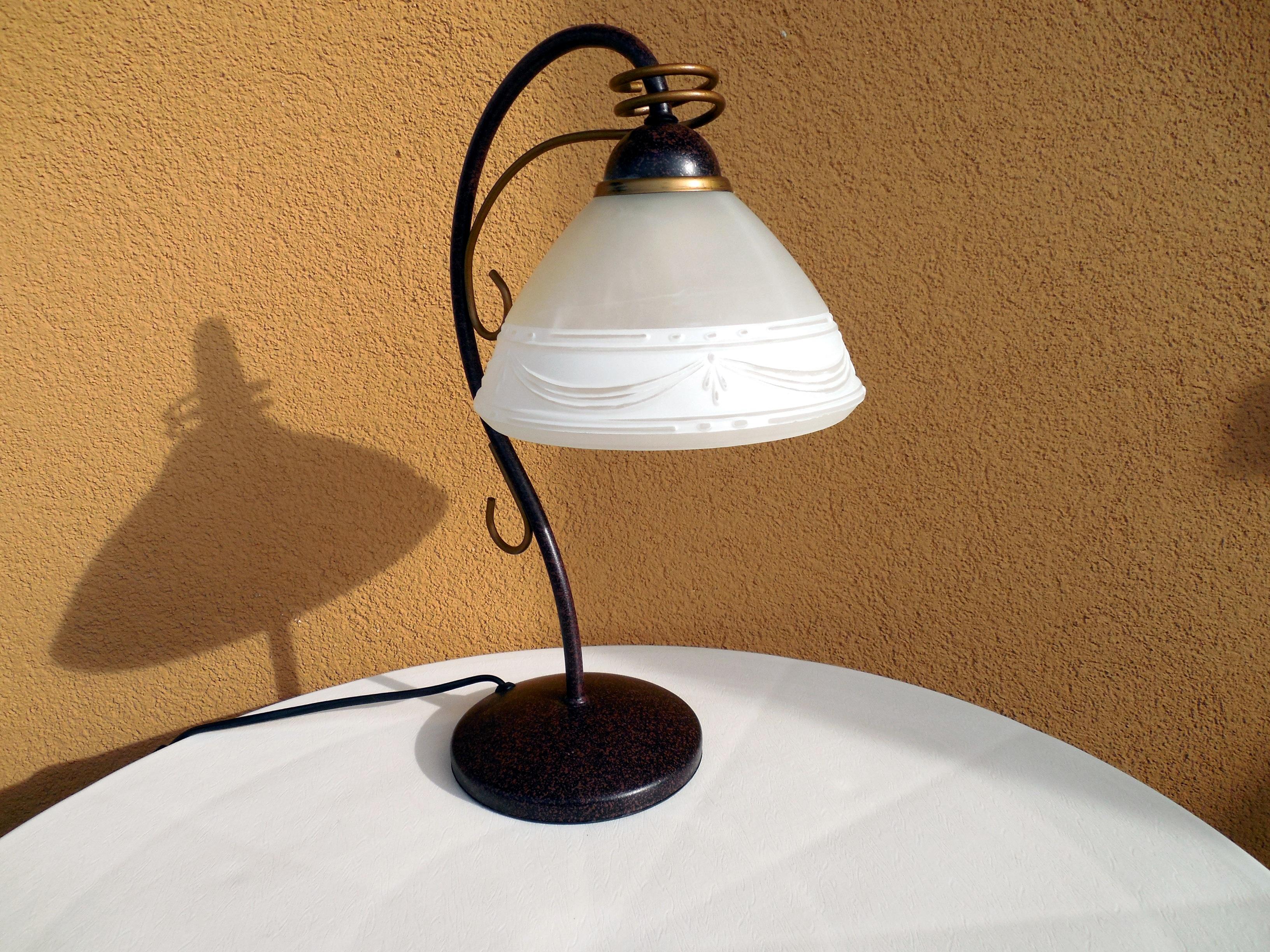 Siste Bildet : lett, hvit, glass, tak, keramisk, lampe, lampeskjerm QN-27