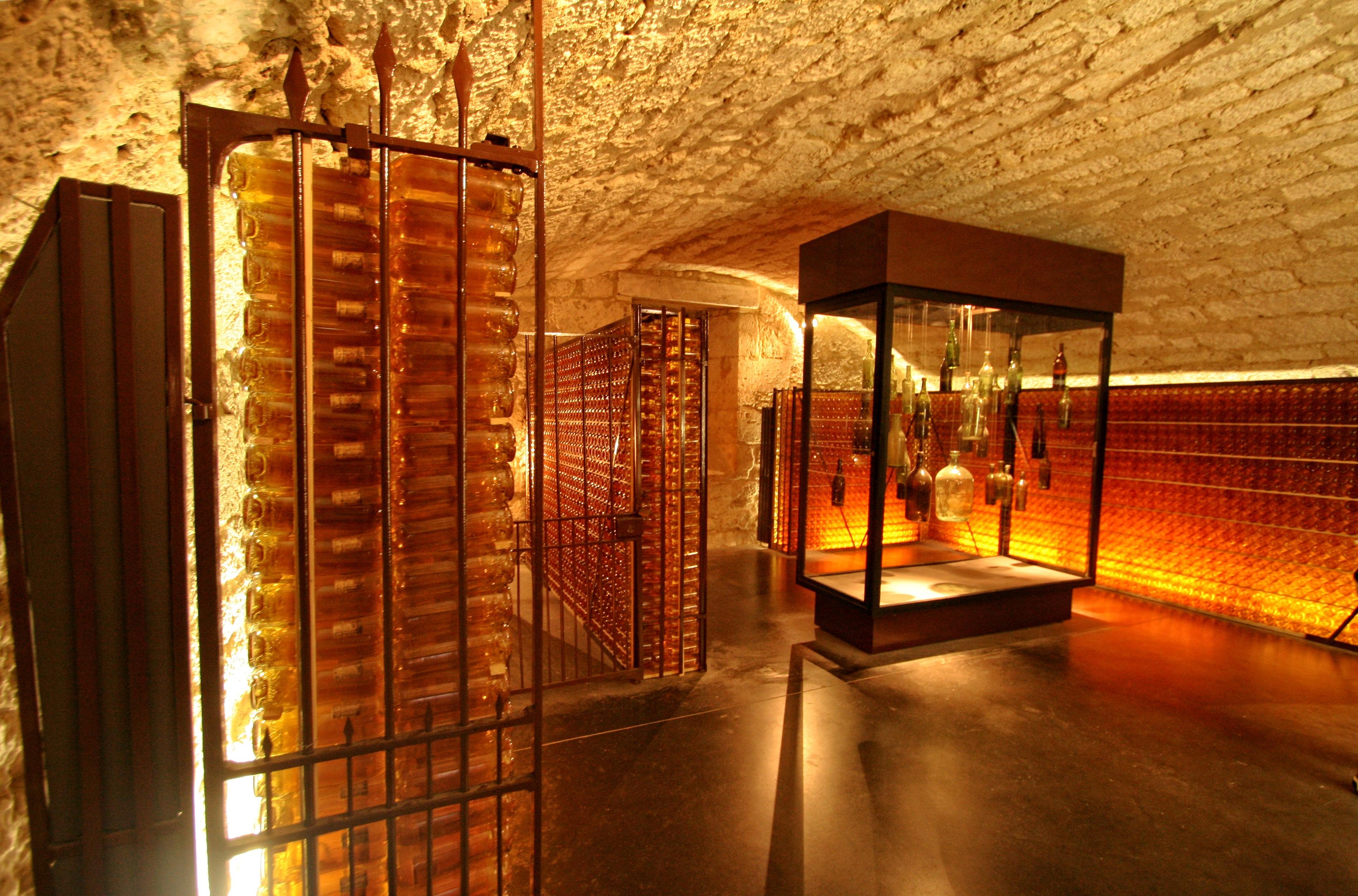 light wine night france cave lighting interior design estate lobby dordogne winery p rigord monbazillac & Free Images : light wine night france cave lighting interior ...