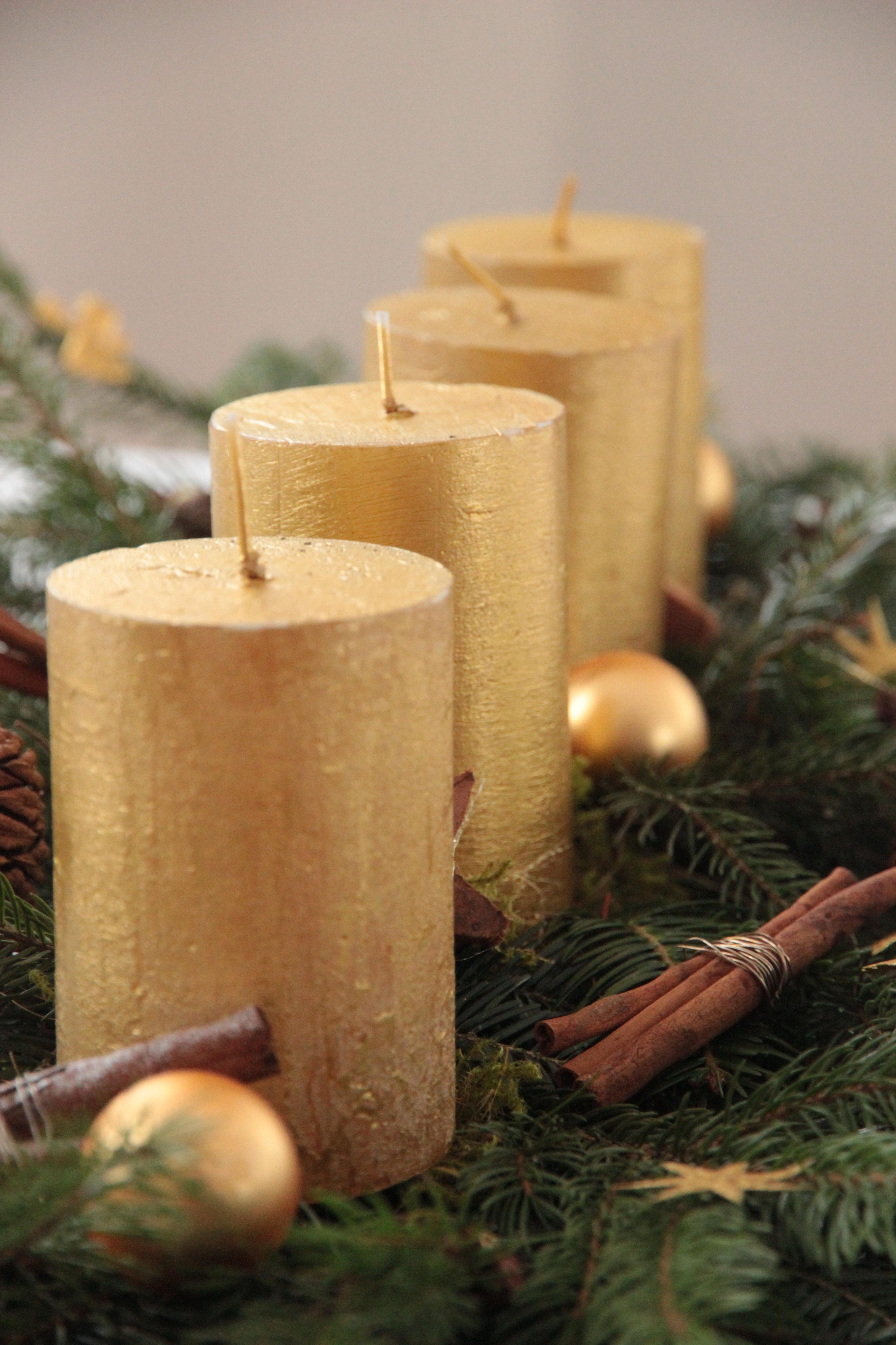 ligero madera vela navidad iluminacin decoracin arreglo adviento decoracin navidea tiempo de navidad oro corona de