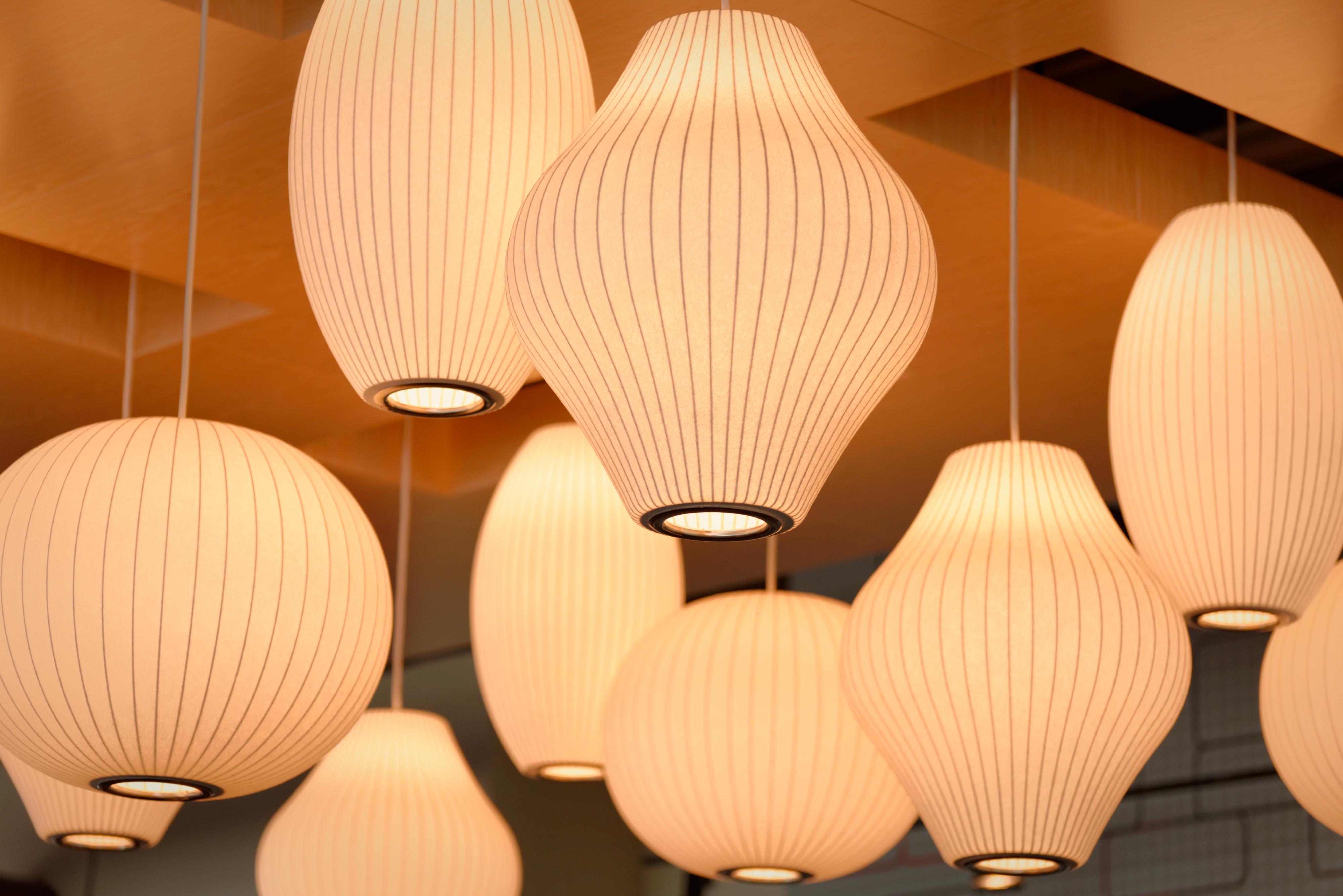 Svært Bildet : lett, tre, tak, lampe, lampeskjerm, belysning, produkt UY-38