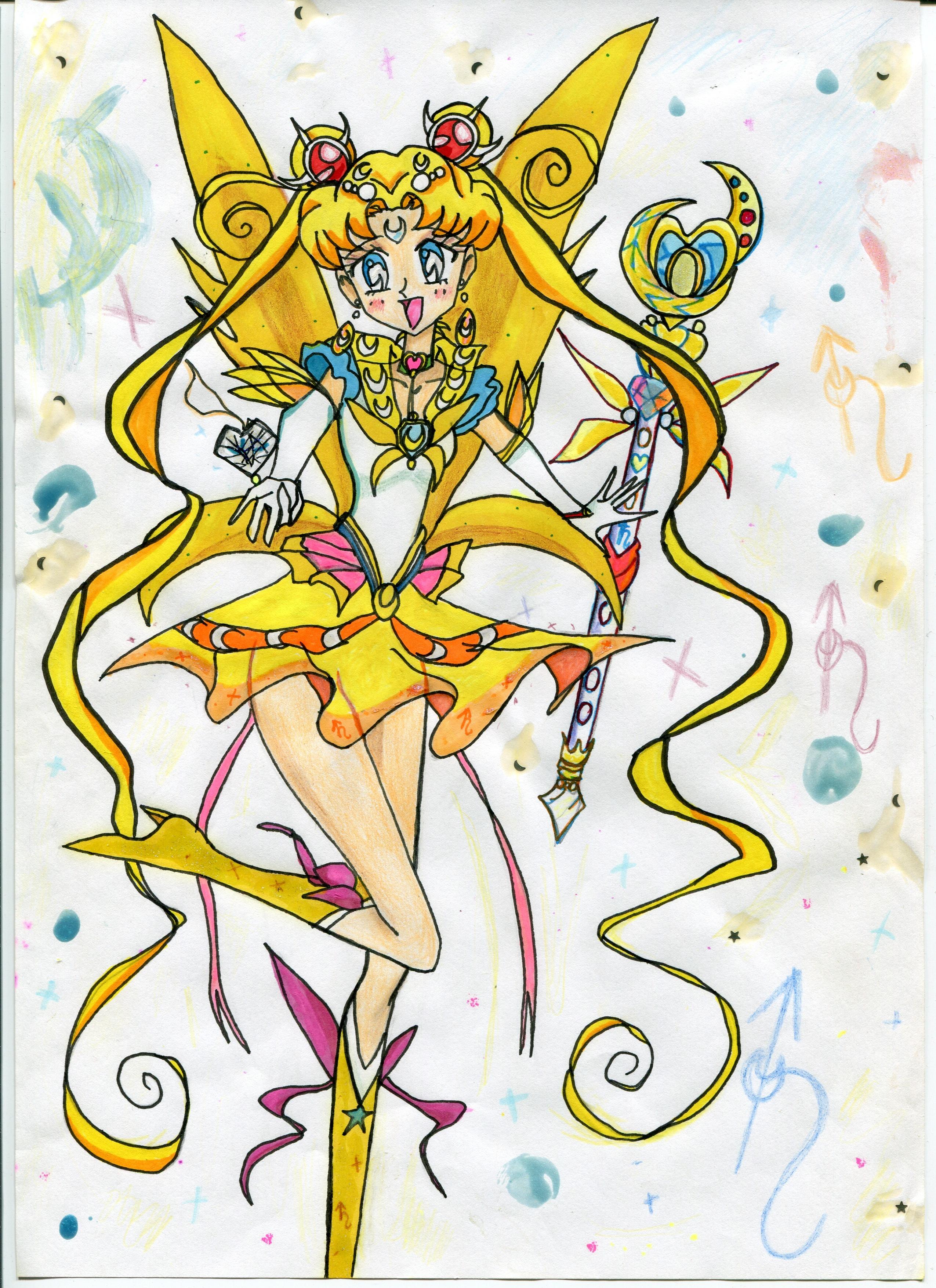 Gambar Garis Animasi Ilustrasi Peri Putri Sprite Anime