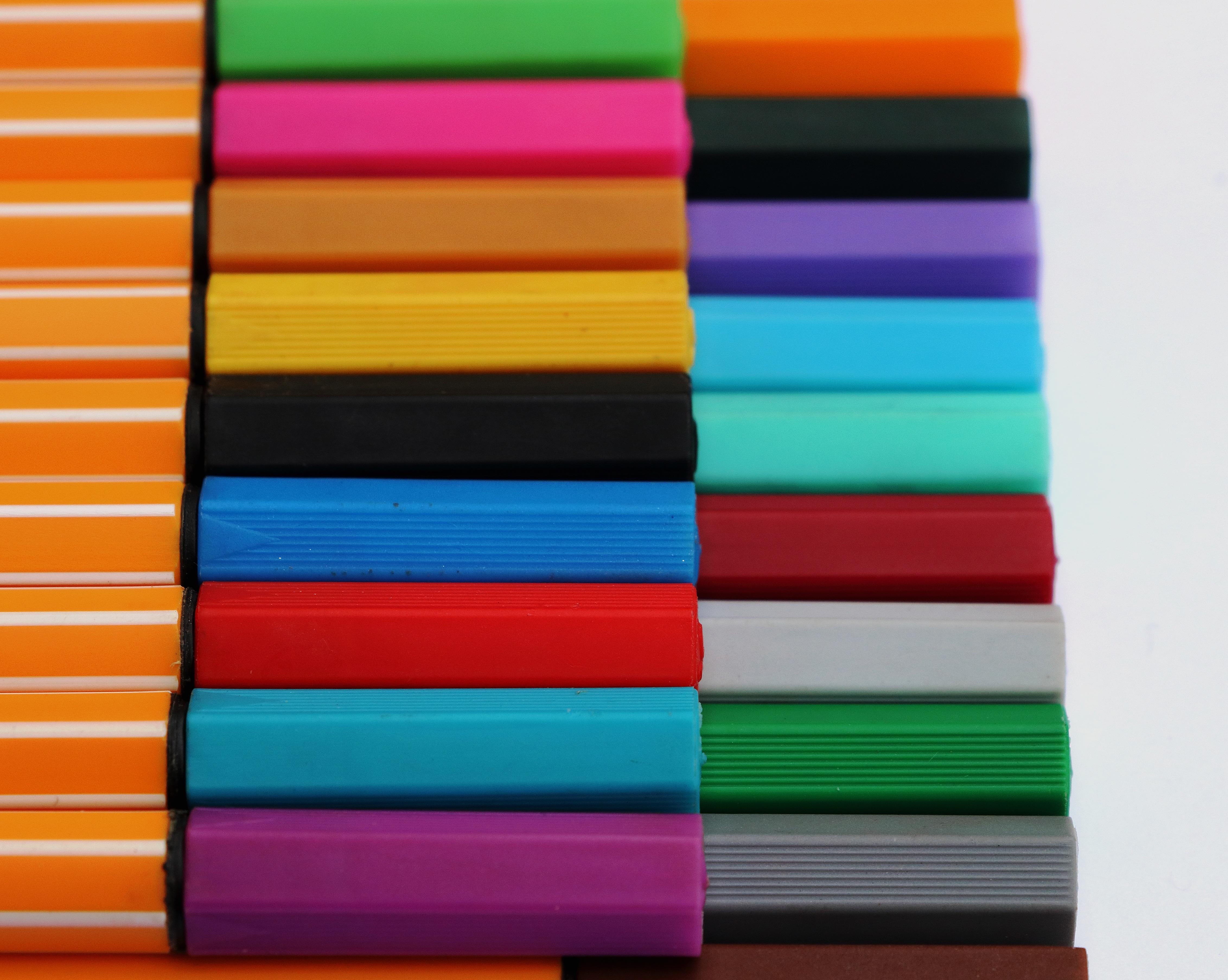 lnea color pintar vistoso pintura textil art pintor plumas magenta dibujar salir lpices de colores colores