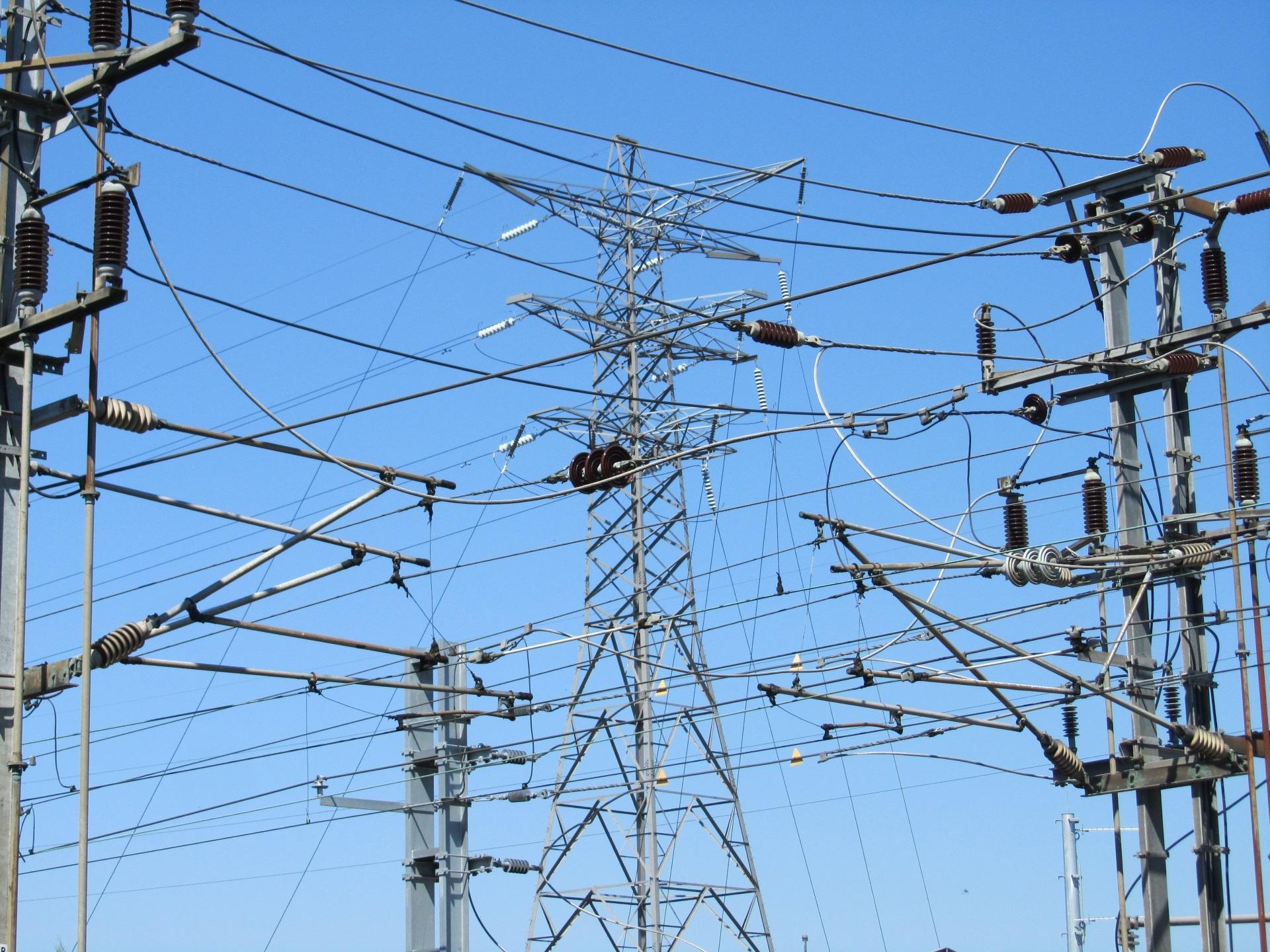 Kostenlose foto : Linie, Turm, Mast, Industrie, Elektrizität ...
