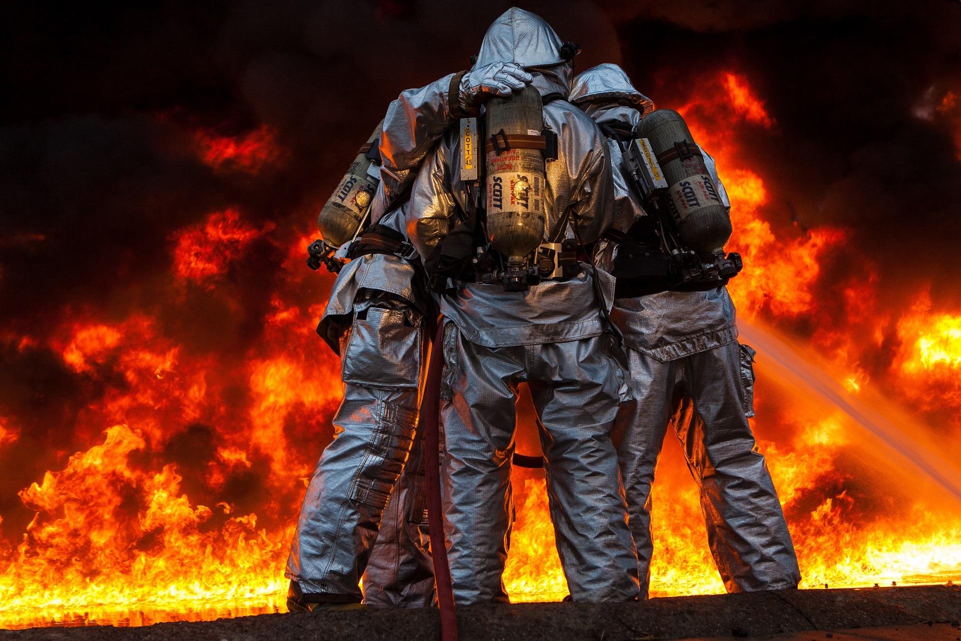 Красивые картинки пожарных
