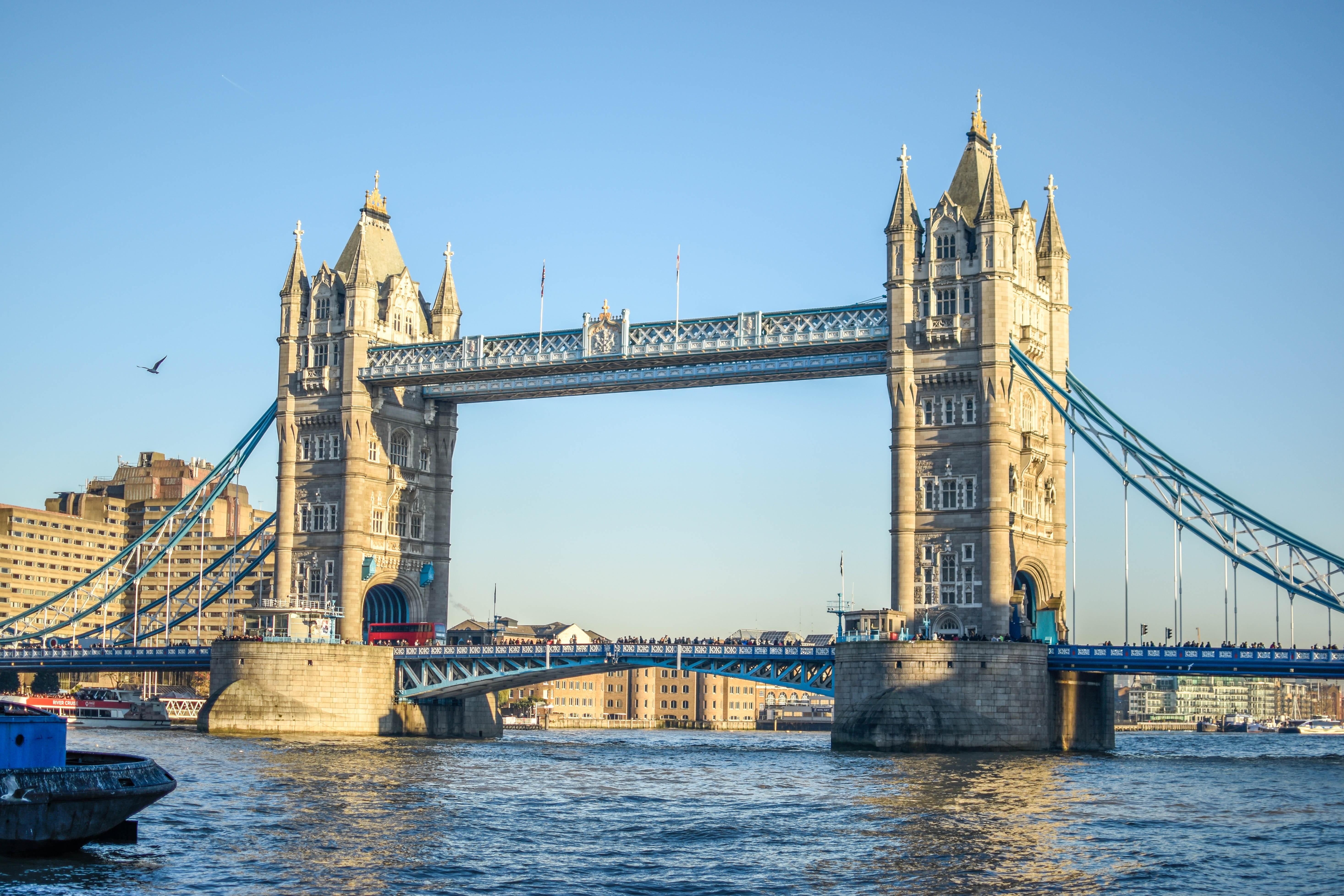 Kostenlose Foto London England Großbritannien Brücke Ort Die